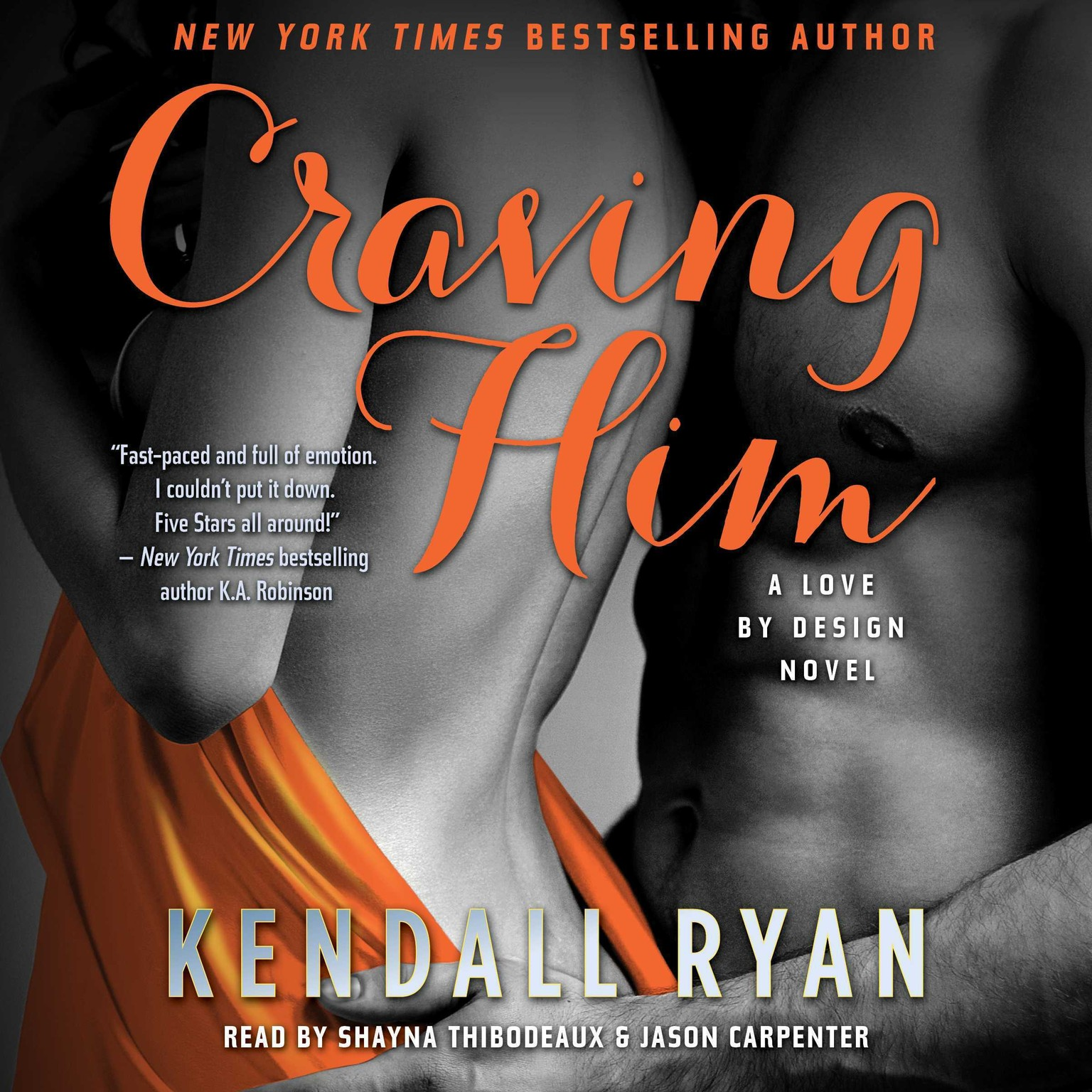 Printable Craving Him: A Love By Design Novel Audiobook Cover Art