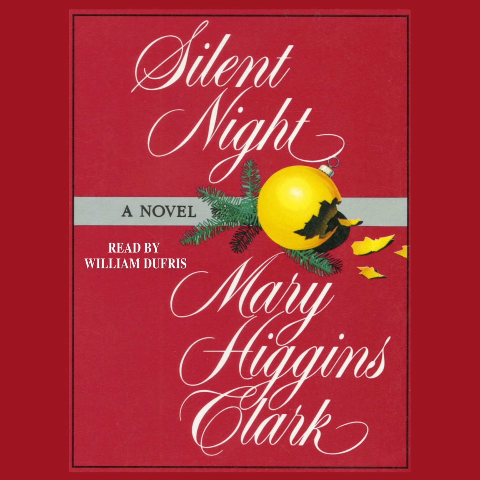 Printable Silent Night Audiobook Cover Art
