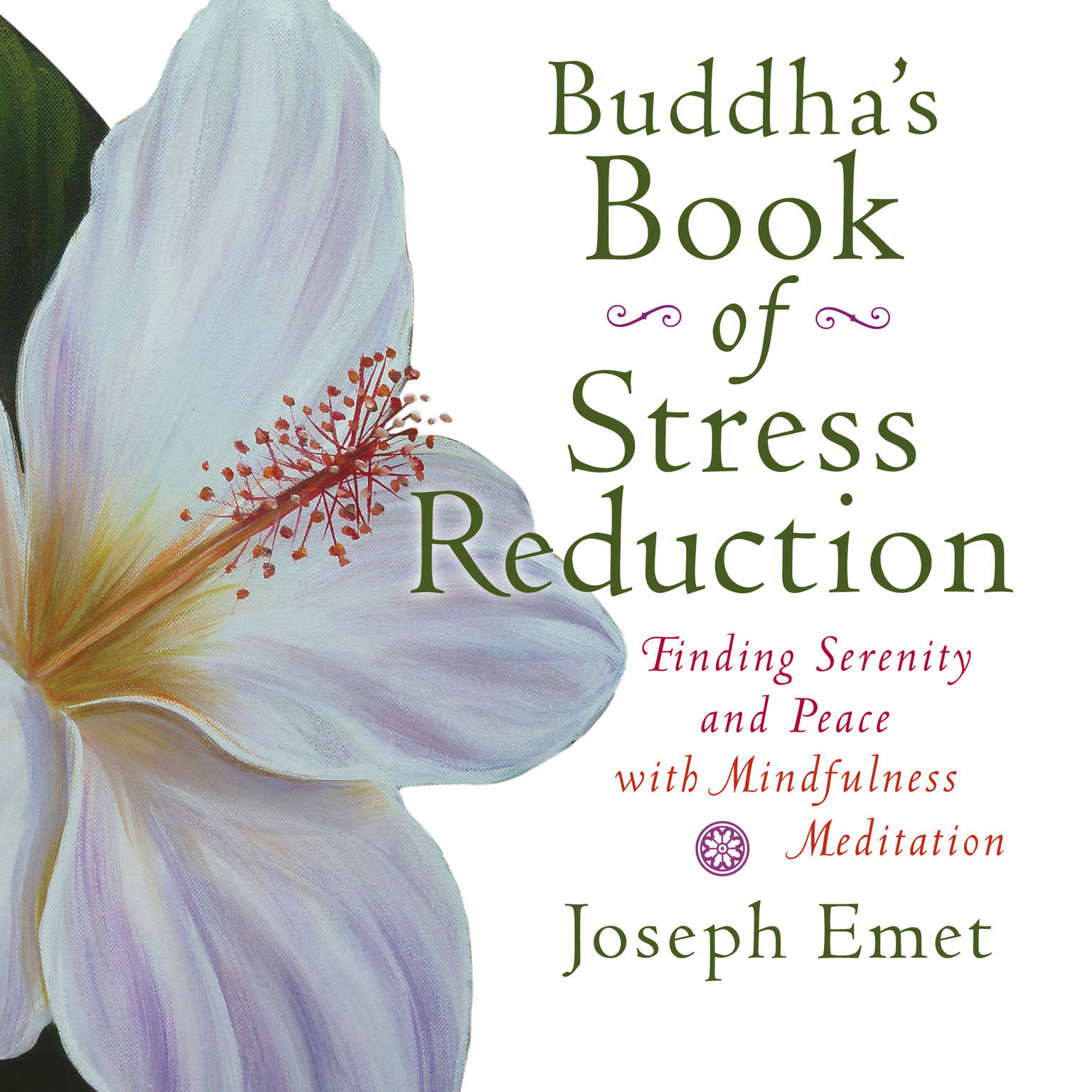 Printable Buddha's Book of Stress Reduction: Finding Serenity and Peace with Mindfulness Meditation Audiobook Cover Art