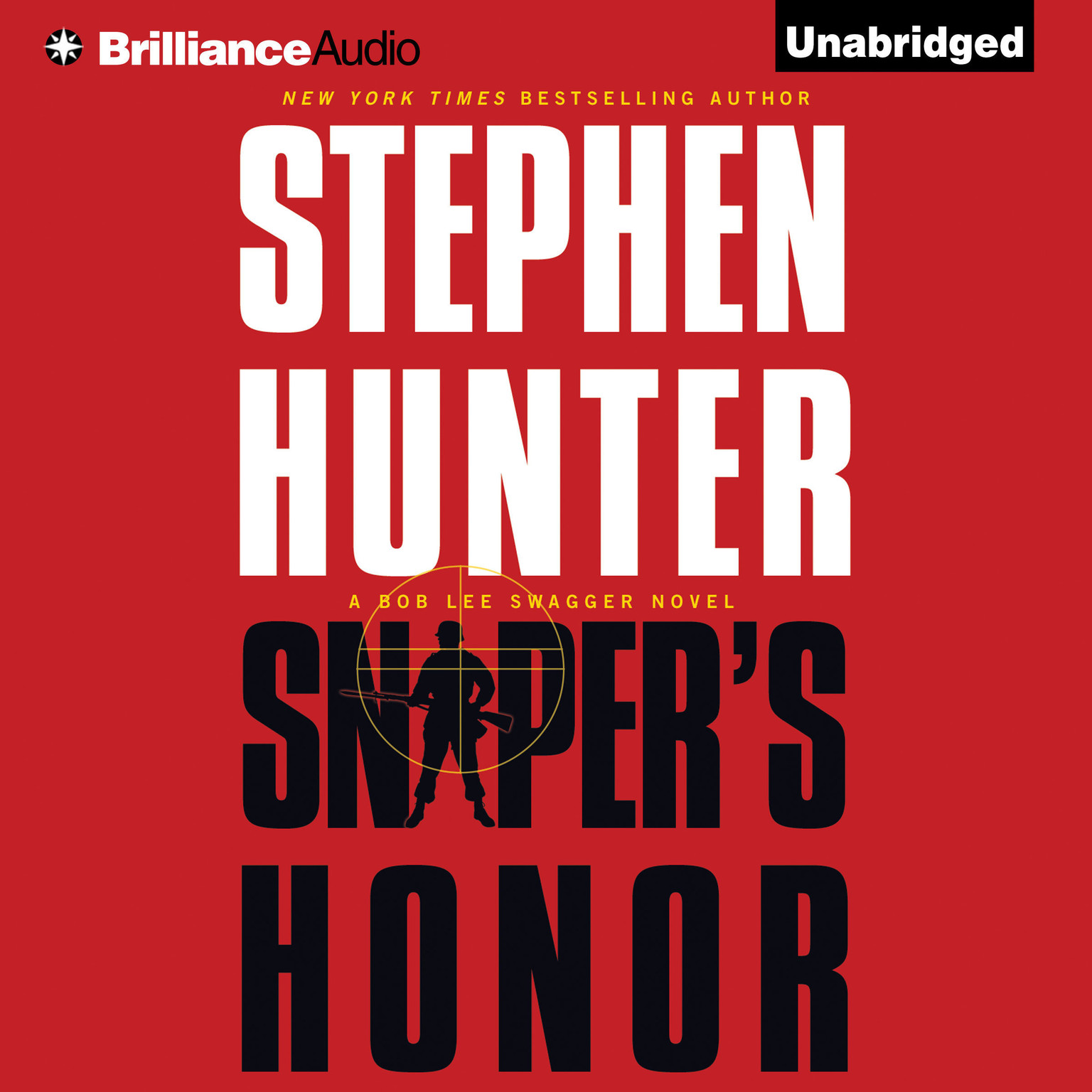 Printable Sniper's Honor: A Bob Lee Swagger Novel Audiobook Cover Art