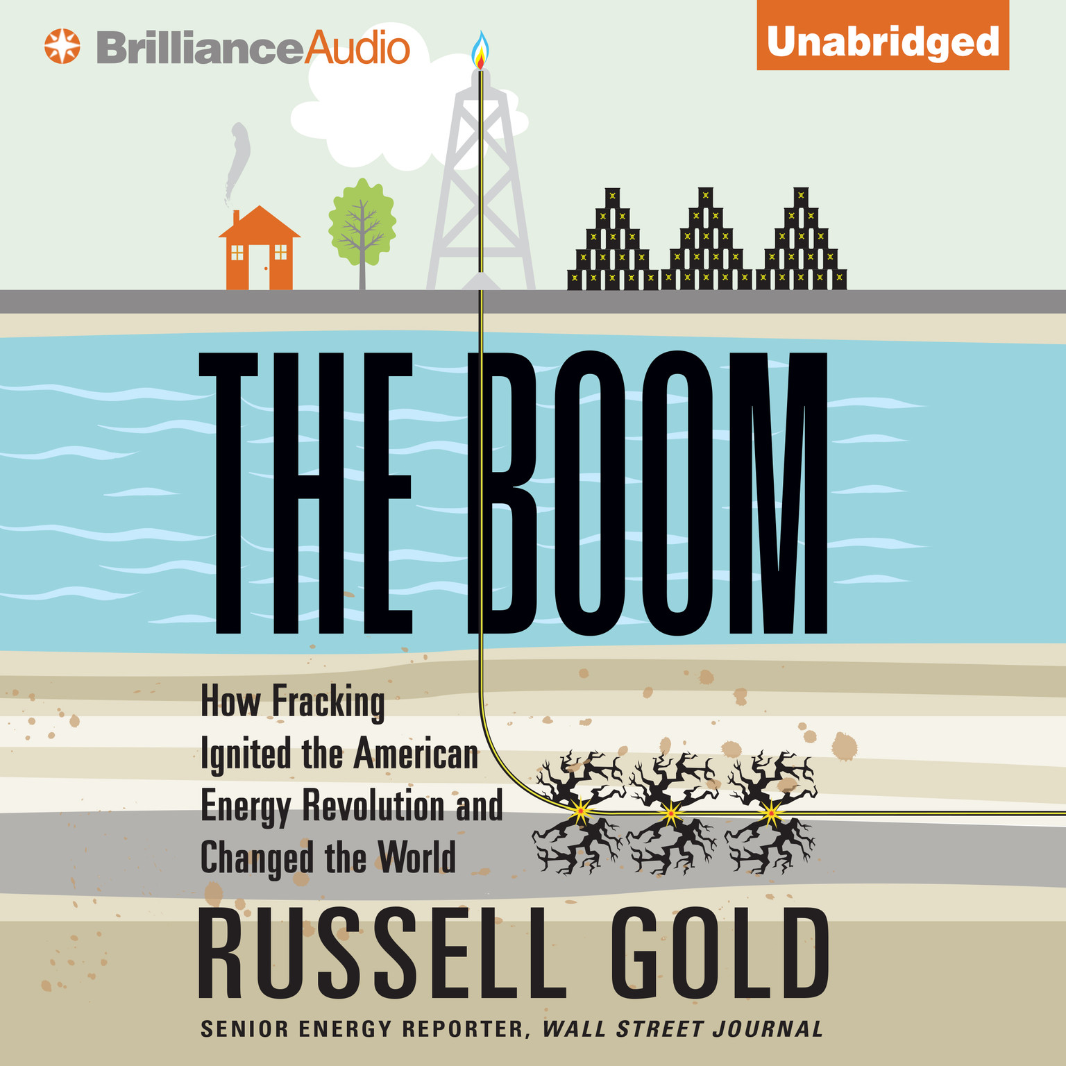 Printable The Boom: How Fracking Ignited the American Energy Revolution and Changed the World Audiobook Cover Art