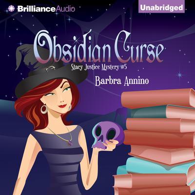 Obsidian Curse Audiobook, by Barbra Annino