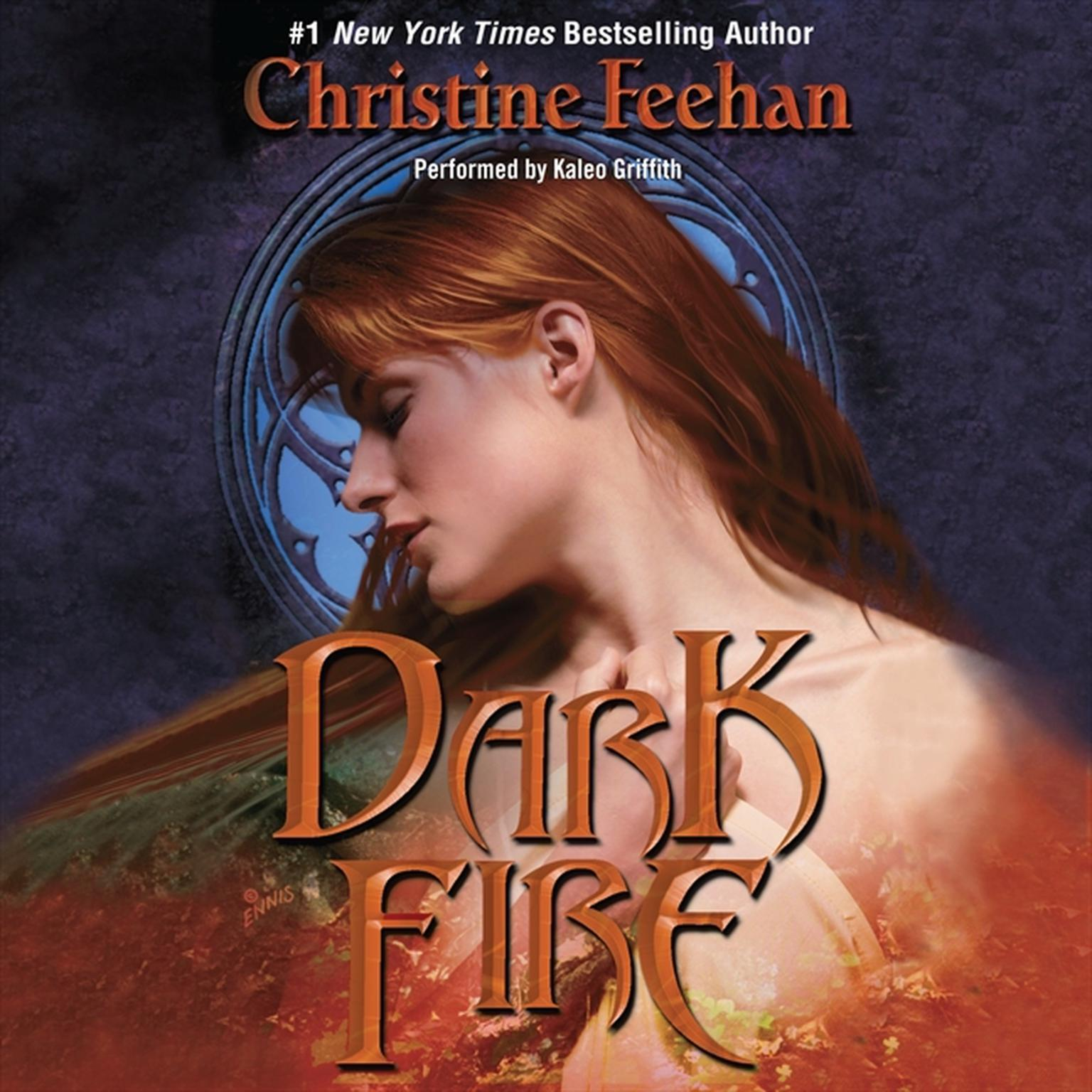 Printable Dark Fire Audiobook Cover Art