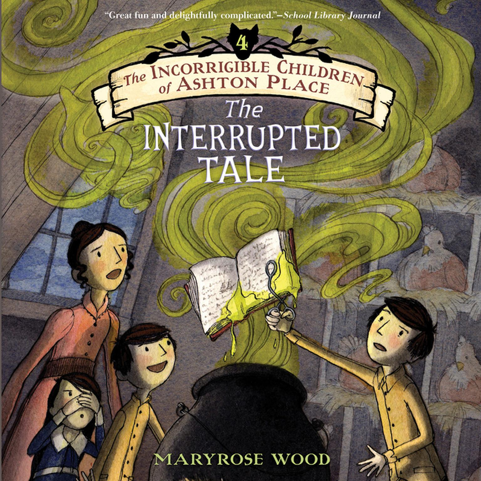 Printable The Interrupted Tale Audiobook Cover Art