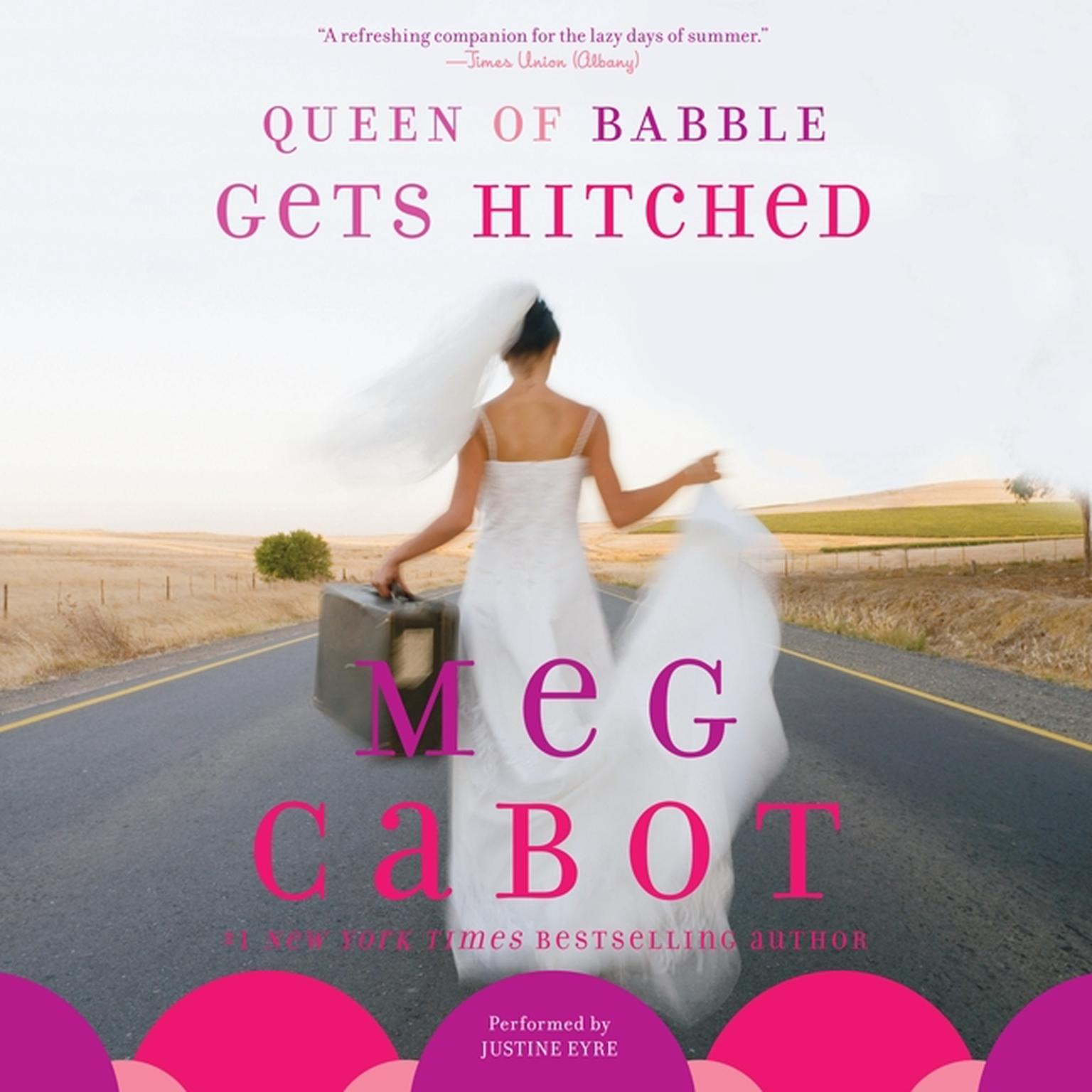 Printable Queen of Babble Gets Hitched Audiobook Cover Art