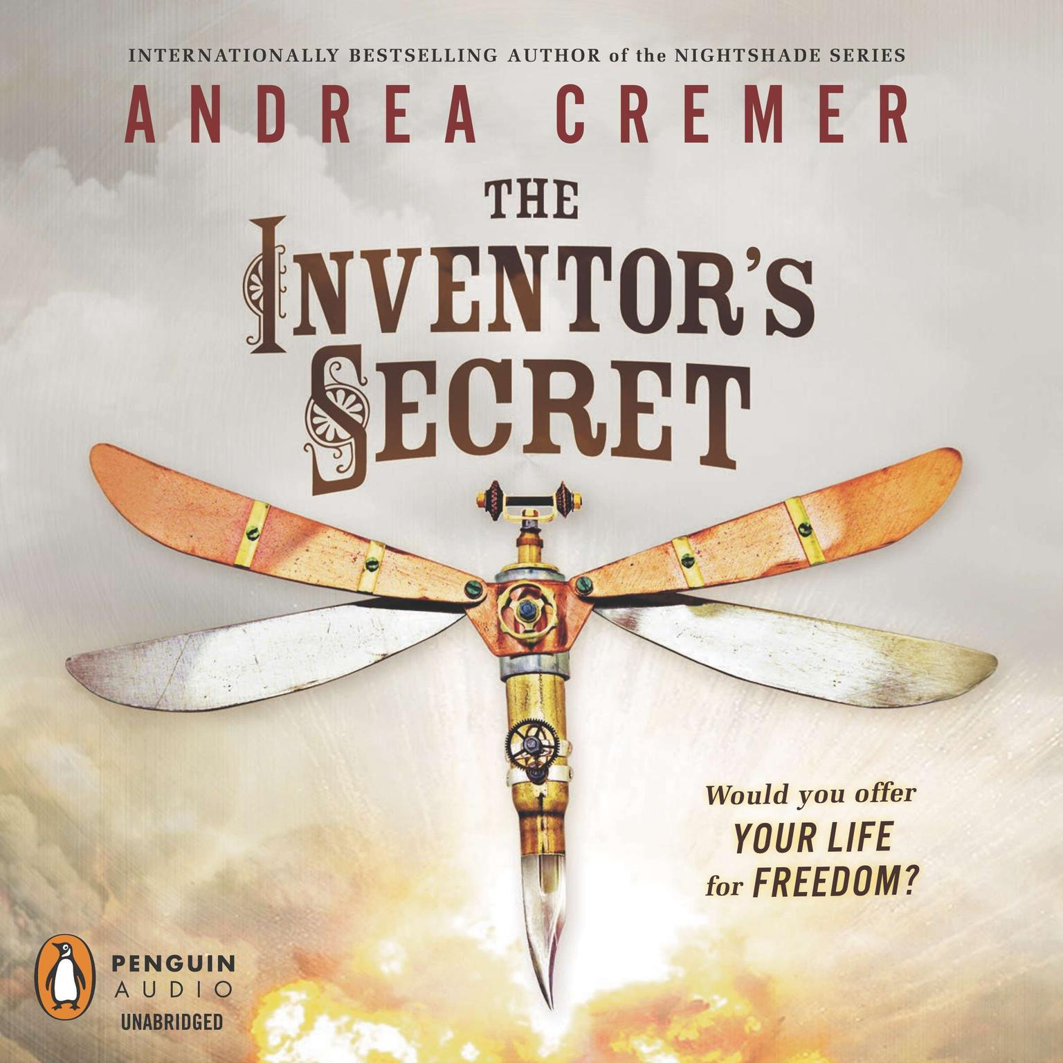 Printable The Inventor's Secret Audiobook Cover Art