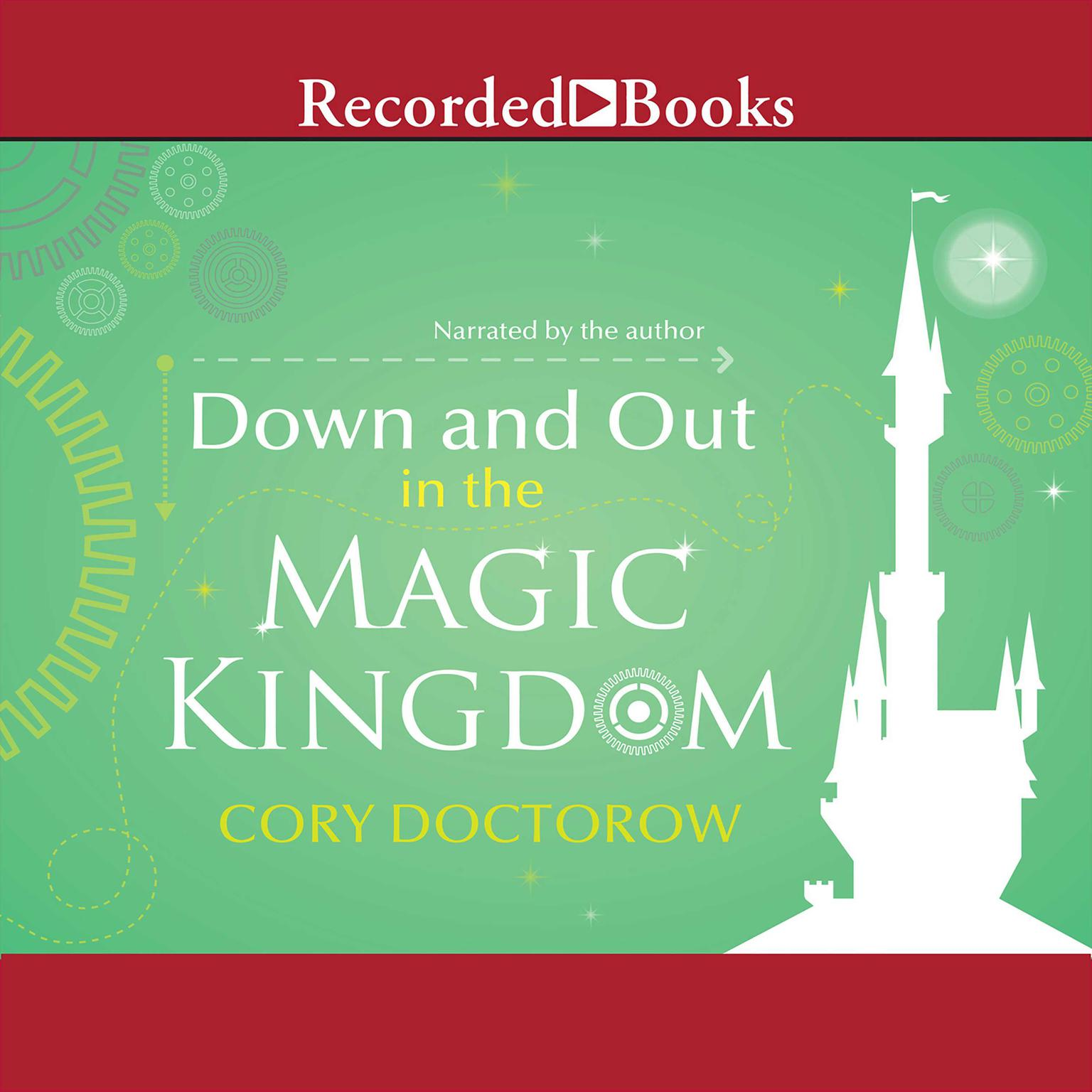 Printable Down and Out in the Magic Kingdom Audiobook Cover Art