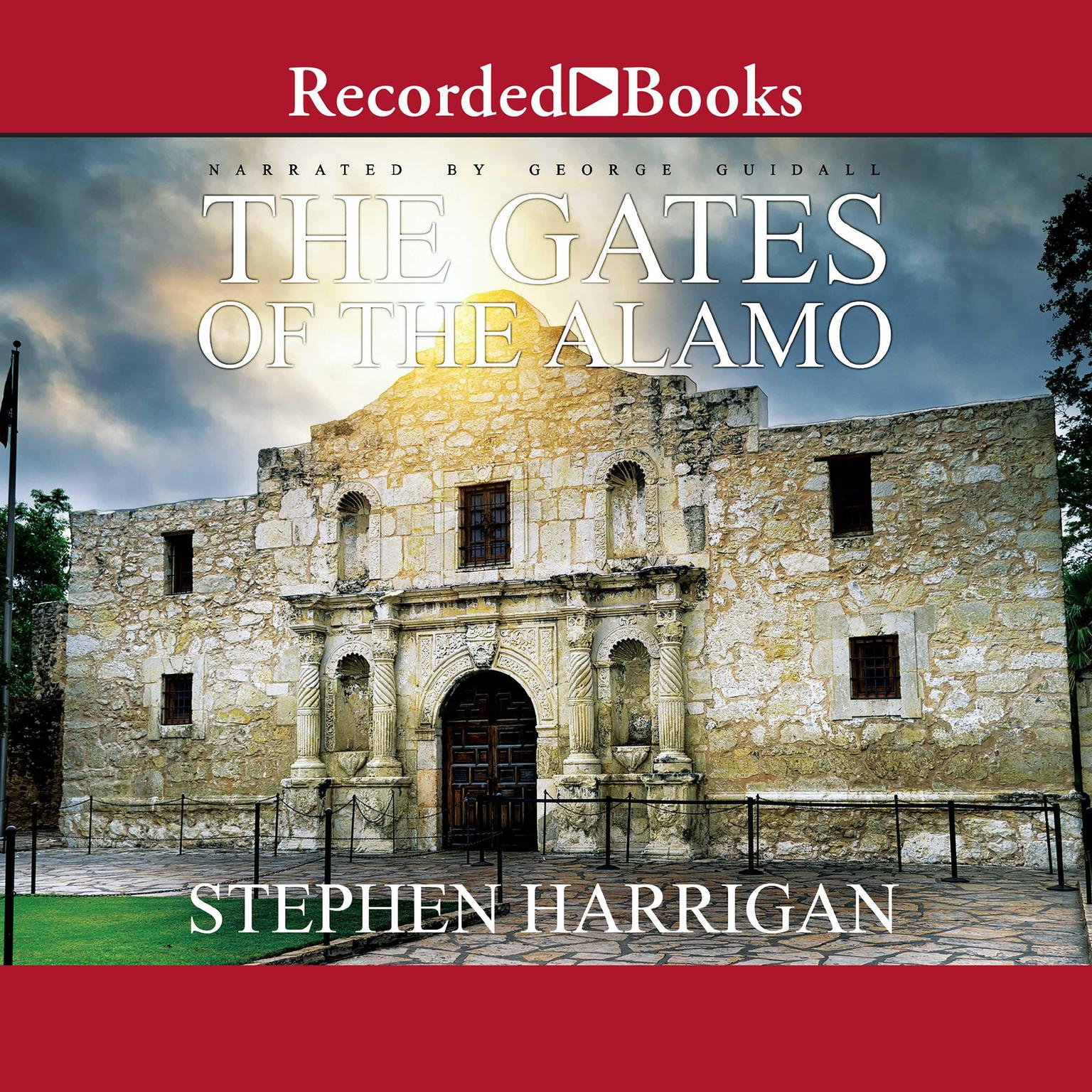 Printable The Gates of the Alamo Audiobook Cover Art