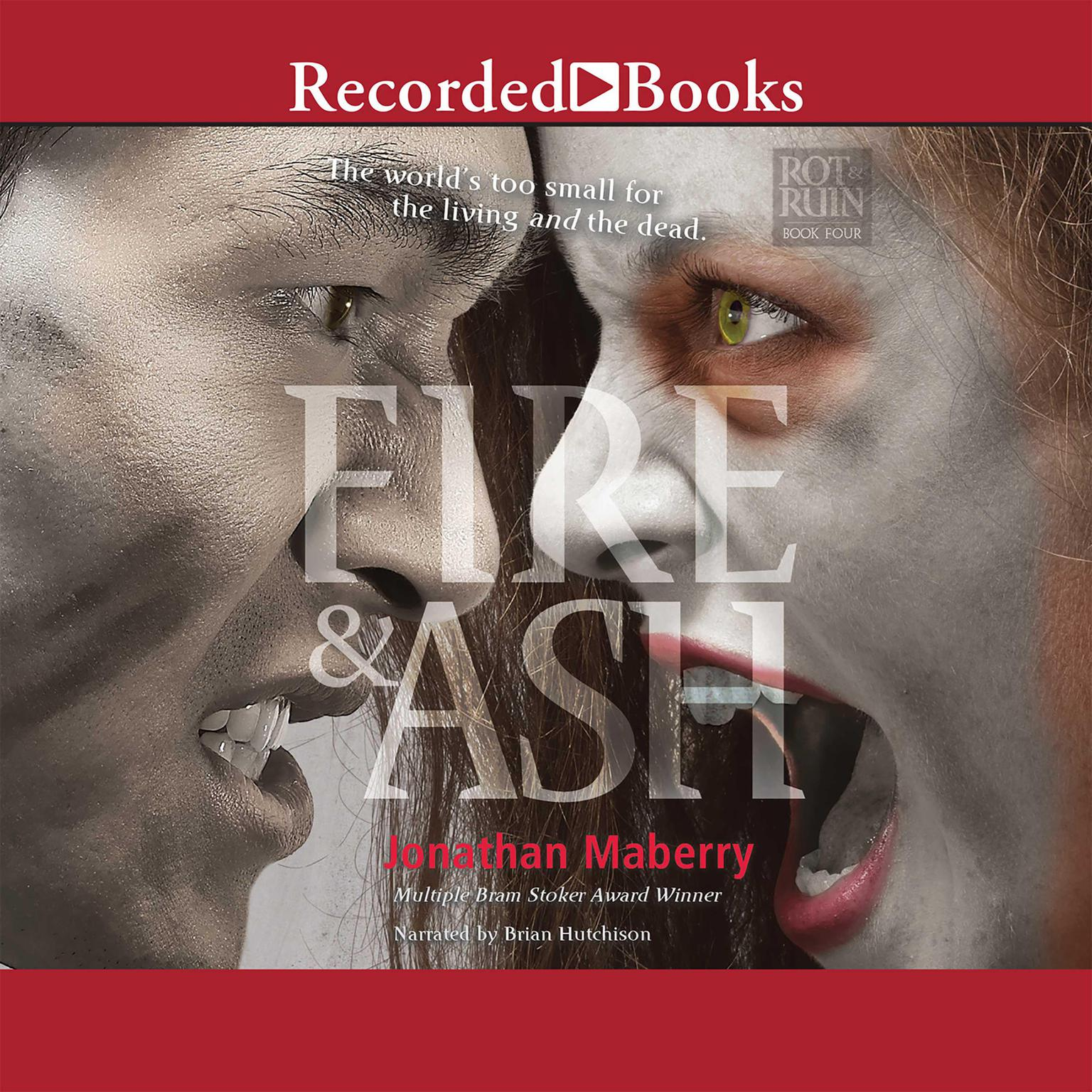 Printable Fire & Ash Audiobook Cover Art