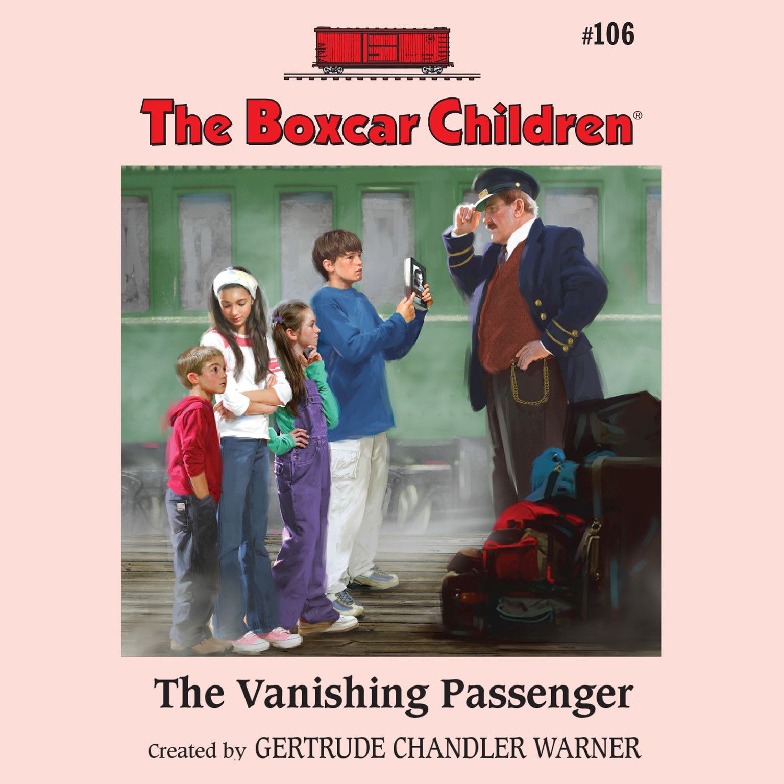 Printable The Vanishing Passenger Audiobook Cover Art
