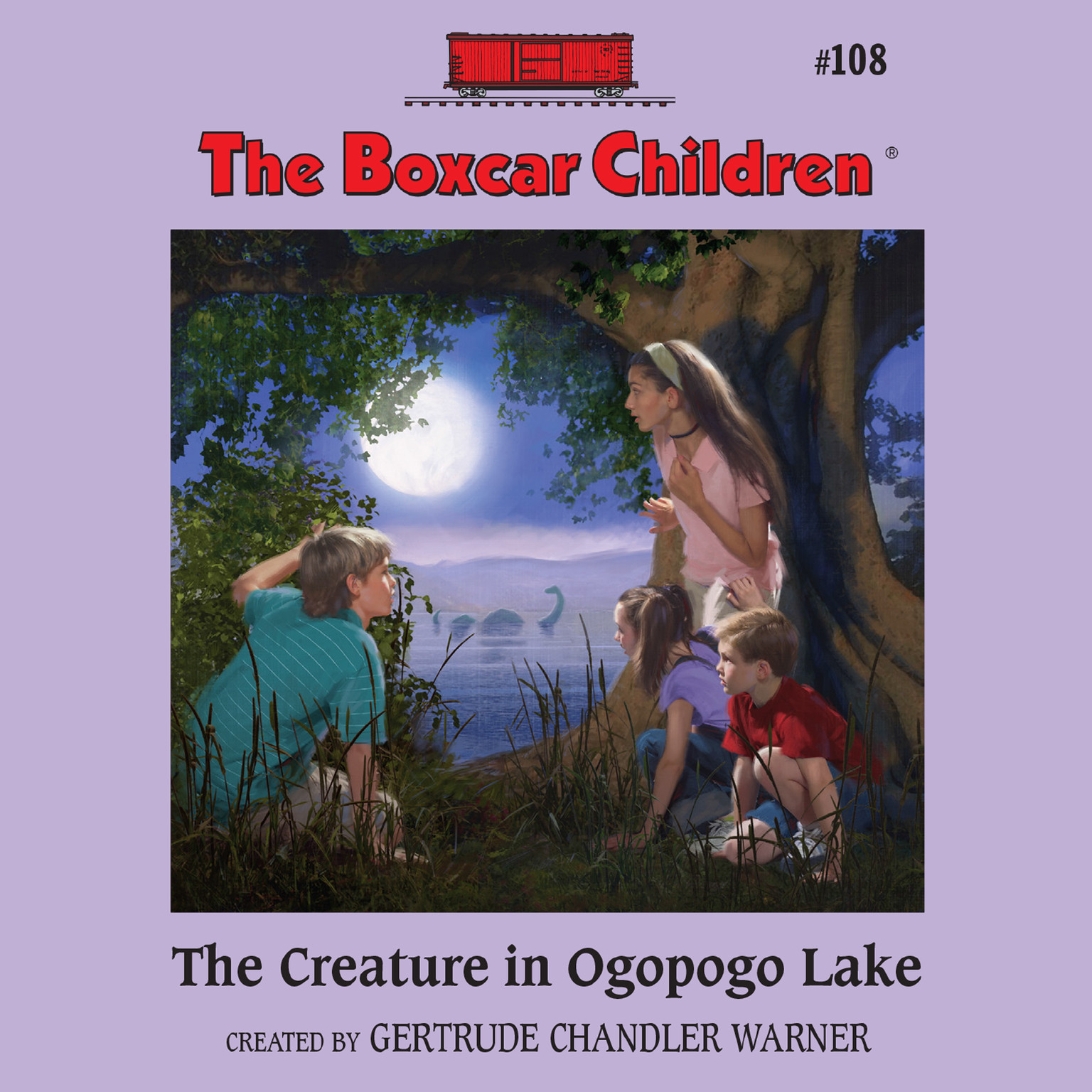 Printable The Creature in Ogopogo Lake Audiobook Cover Art
