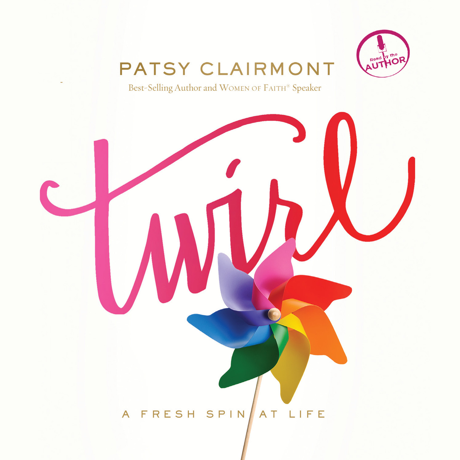Printable Twirl: A Fresh Spin at Life Audiobook Cover Art