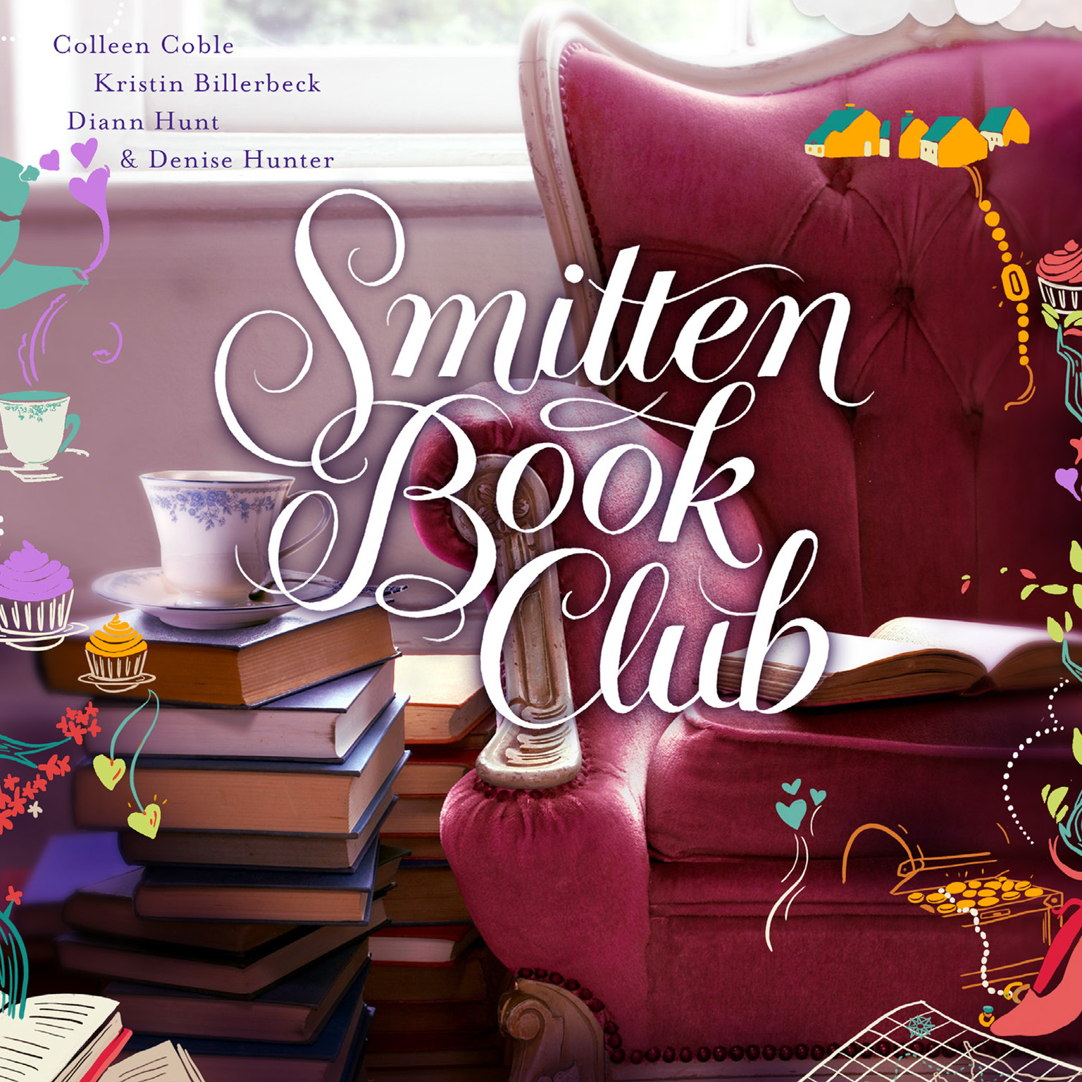 Printable Smitten Book Club Audiobook Cover Art