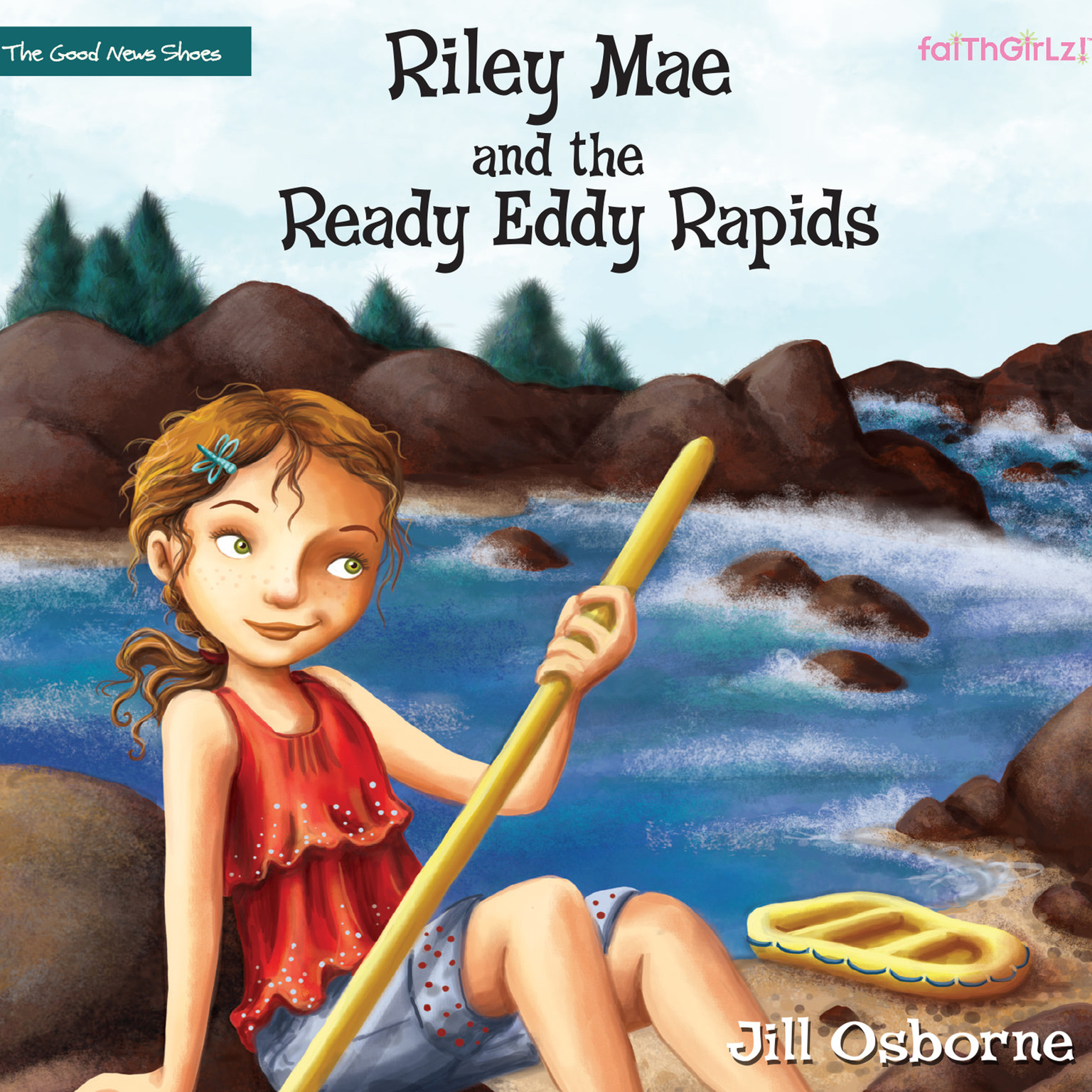 Printable Riley Mae and the Ready Eddy Rapids Audiobook Cover Art