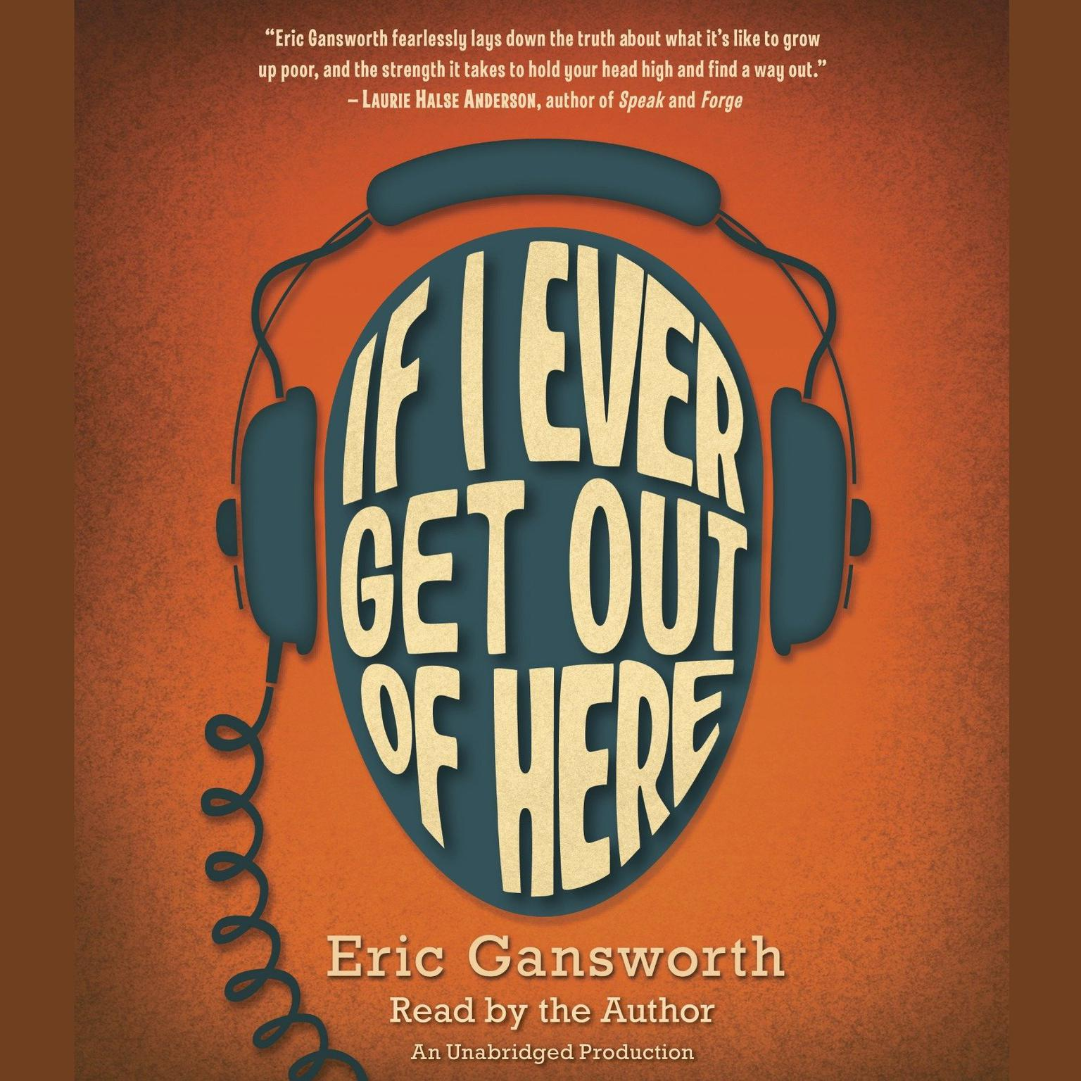 Printable If I Ever Get Out of Here Audiobook Cover Art