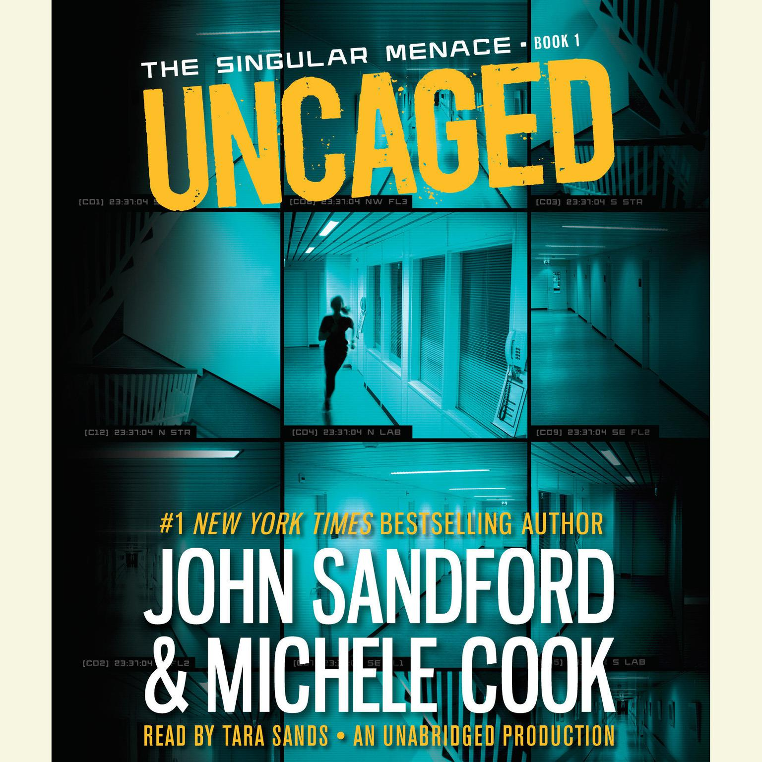 Printable Uncaged  Audiobook Cover Art