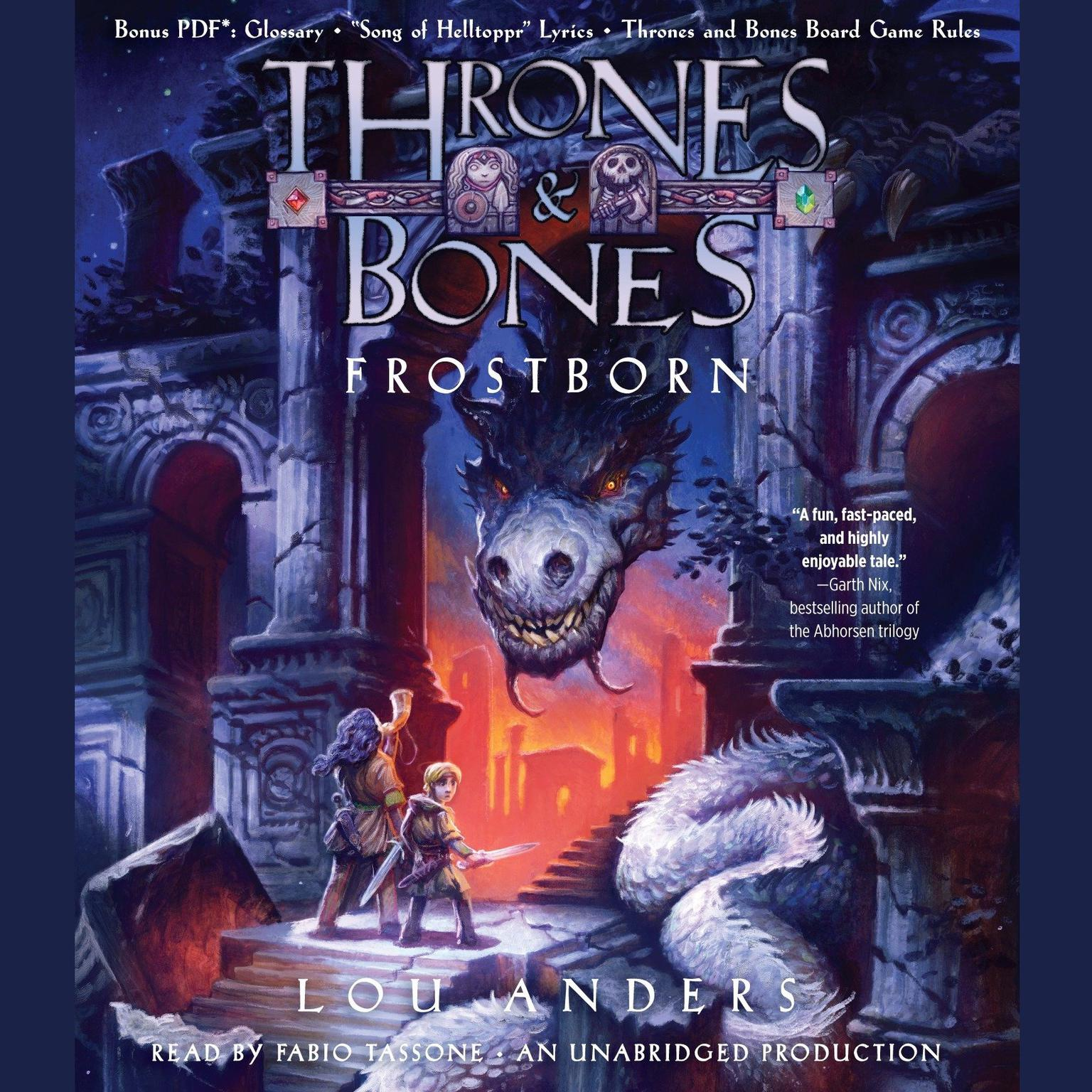 Printable Frostborn Audiobook Cover Art