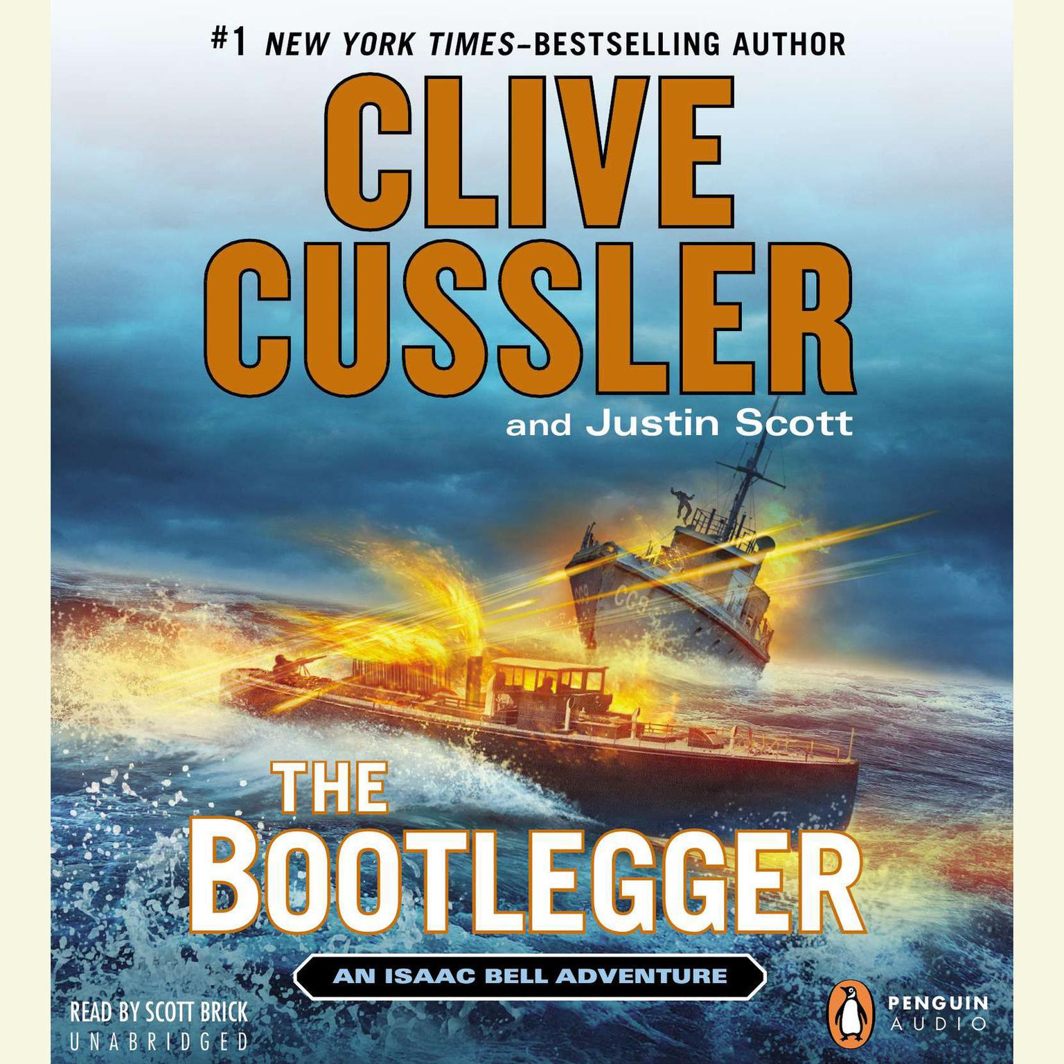 Printable The Bootlegger Audiobook Cover Art