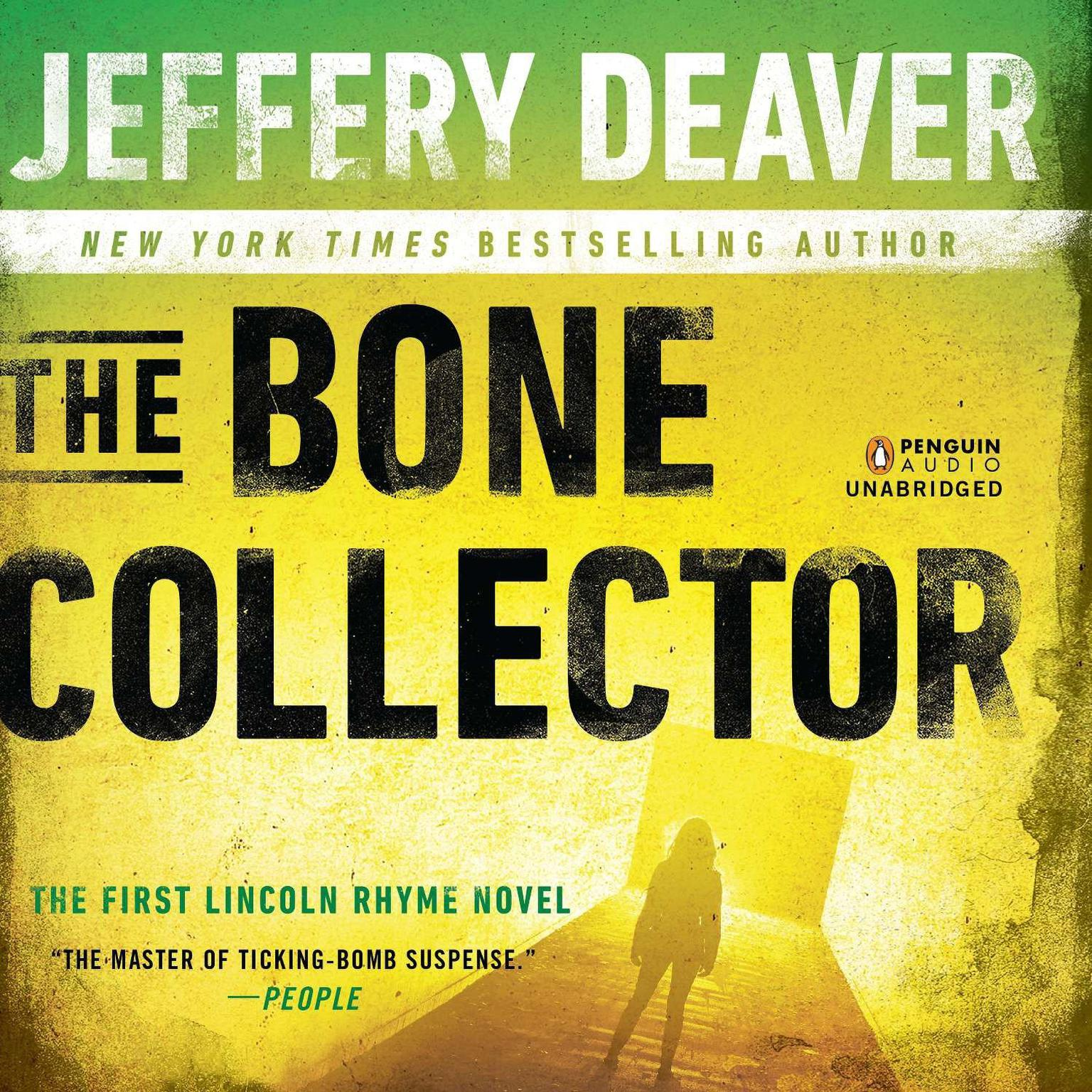 Printable The Bone Collector: The First Lincoln Rhyme Novel Audiobook Cover Art