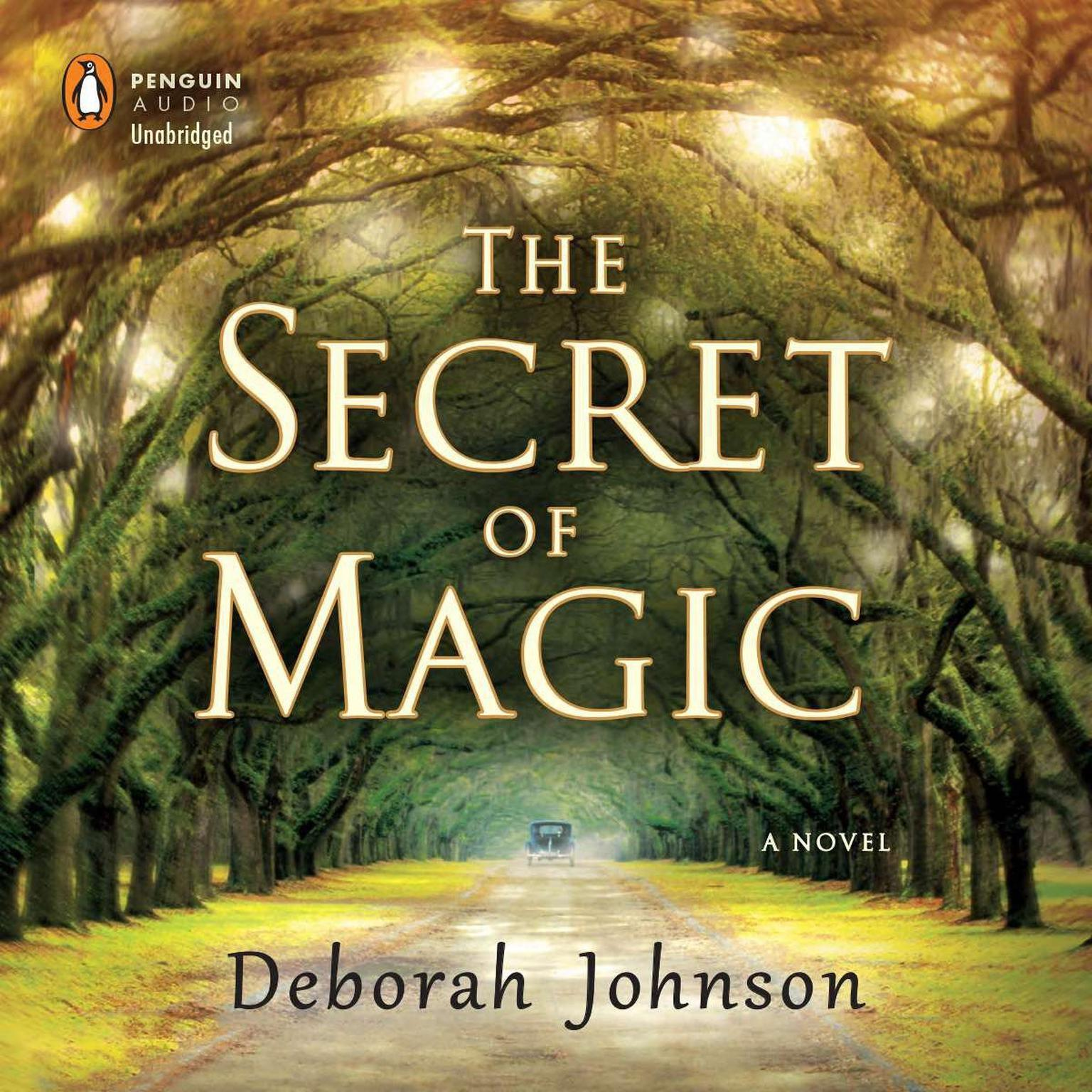 Printable The Secret of Magic: A Novel Audiobook Cover Art