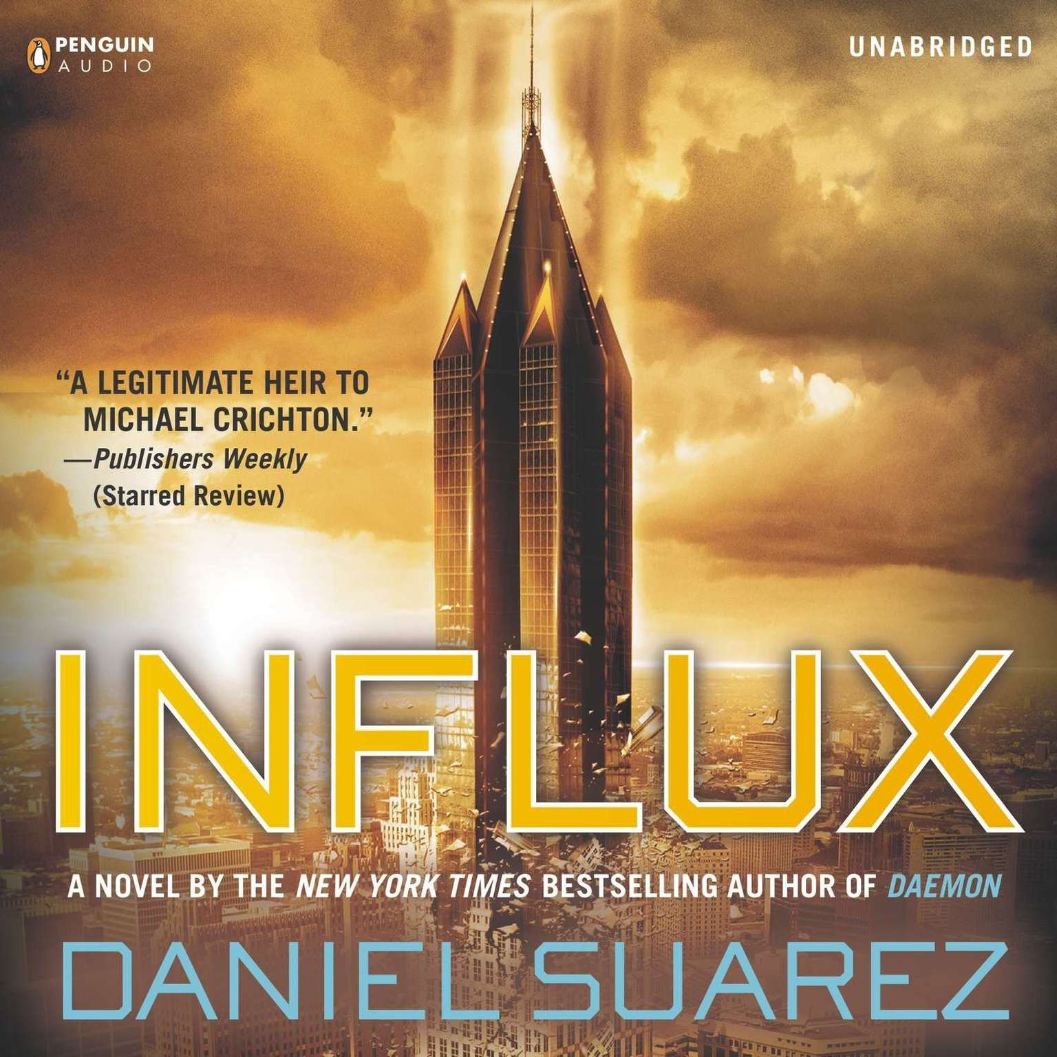 Printable Influx Audiobook Cover Art