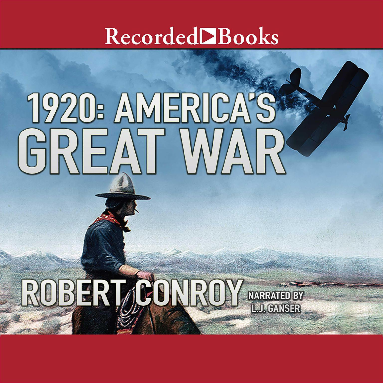 Printable 1920: America's Great War Audiobook Cover Art