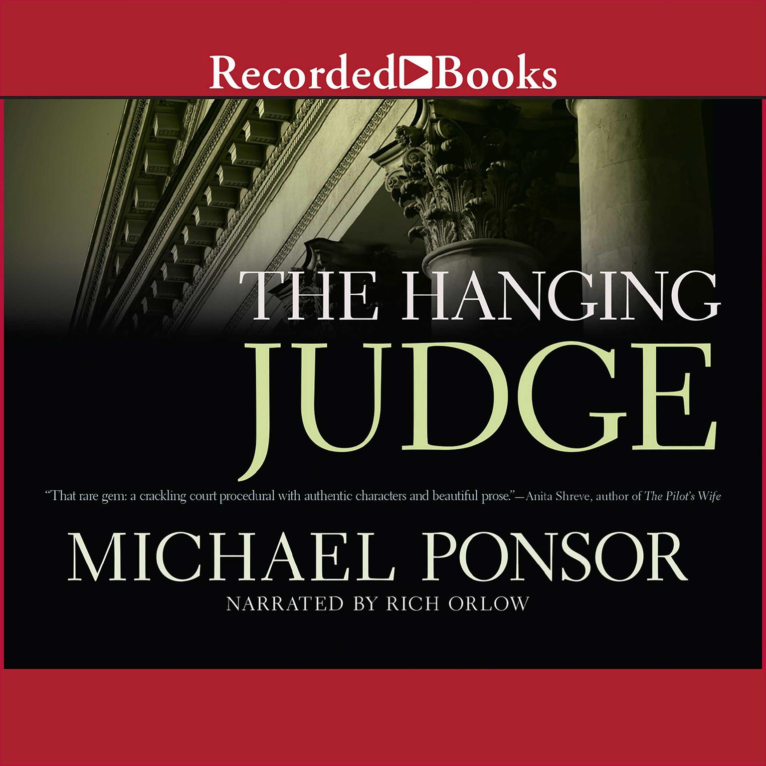 Printable The Hanging Judge Audiobook Cover Art