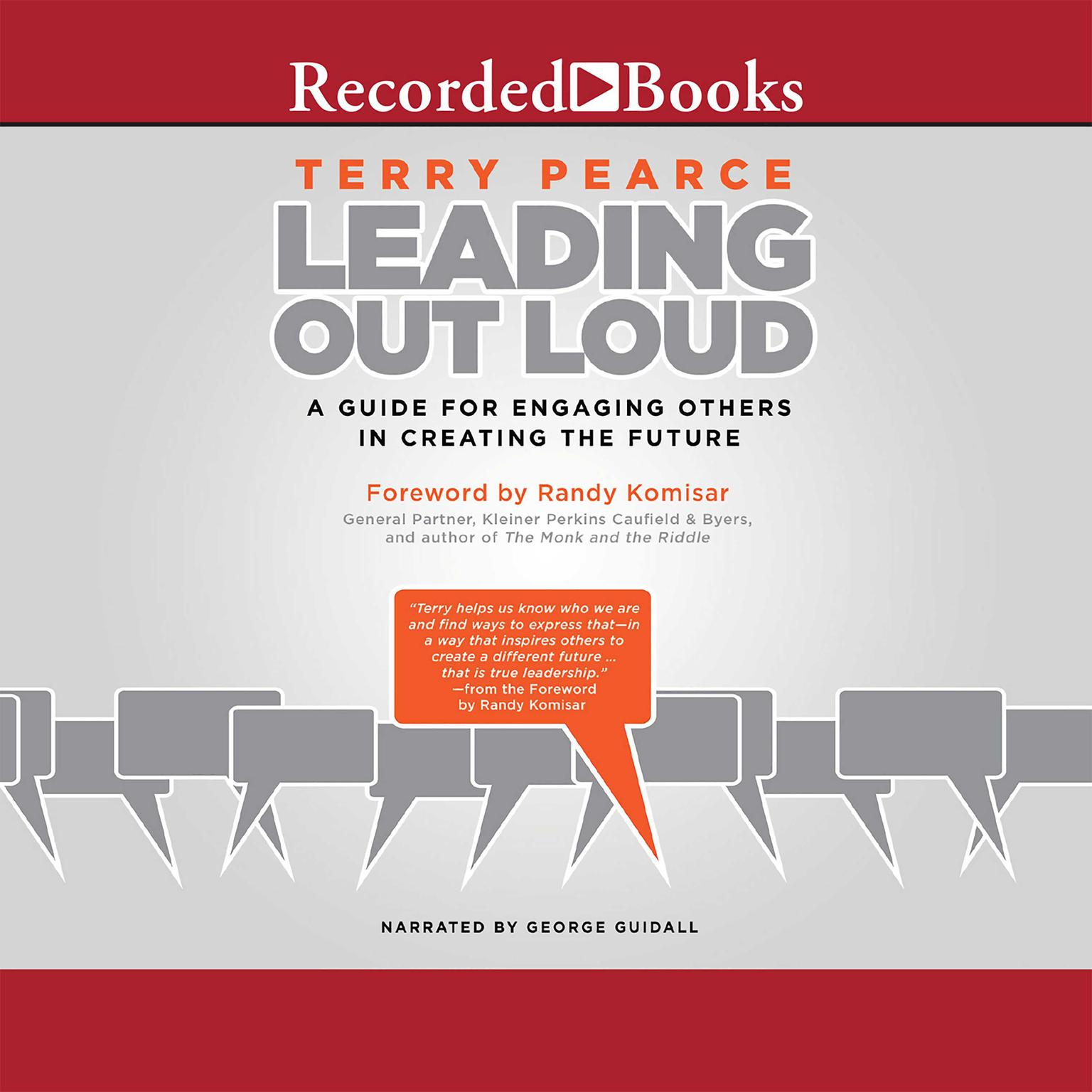 Printable Leading Out Loud: A Guide for Engaging Others in Creating the Future Audiobook Cover Art
