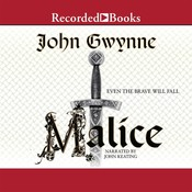 Malice Audiobook, by John Gwynne