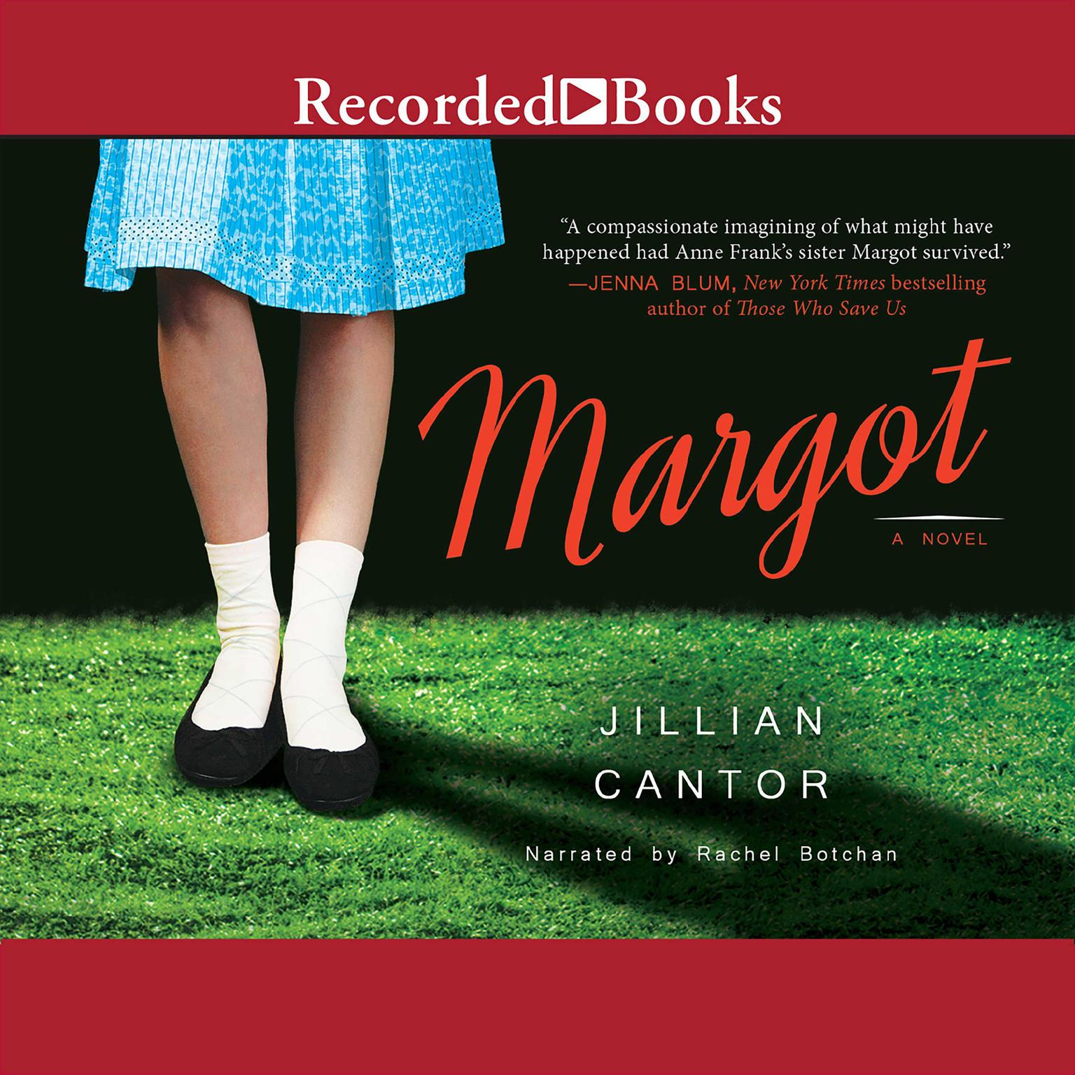 Printable Margot Audiobook Cover Art