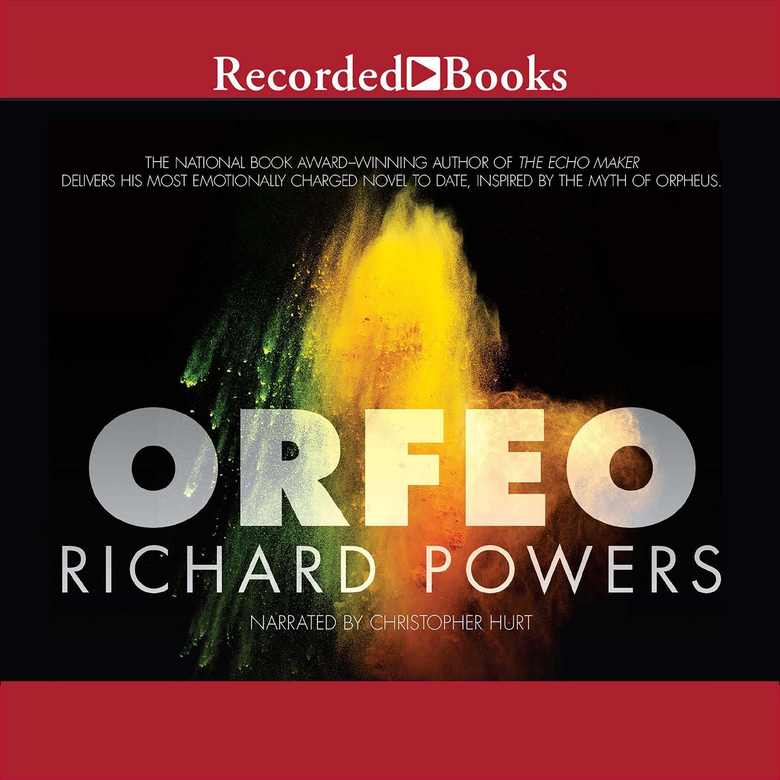 Printable Orfeo: A Novel Audiobook Cover Art