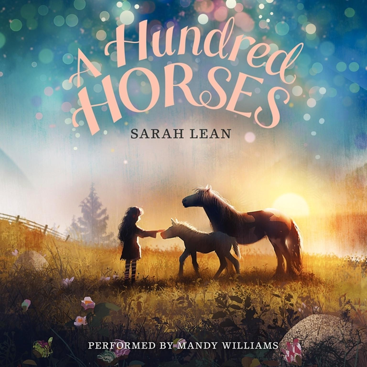 Printable A Hundred Horses Audiobook Cover Art