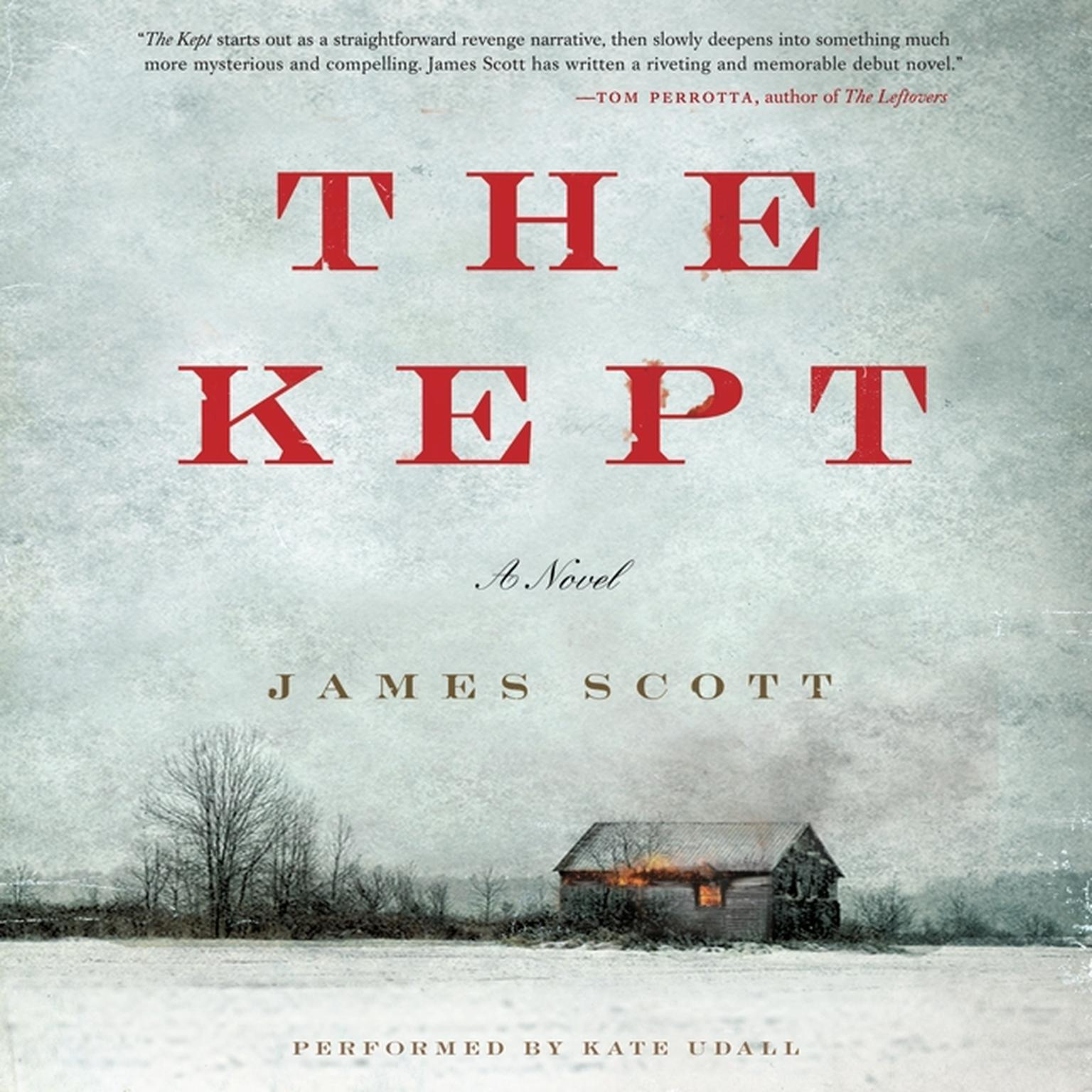 Printable The Kept Audiobook Cover Art