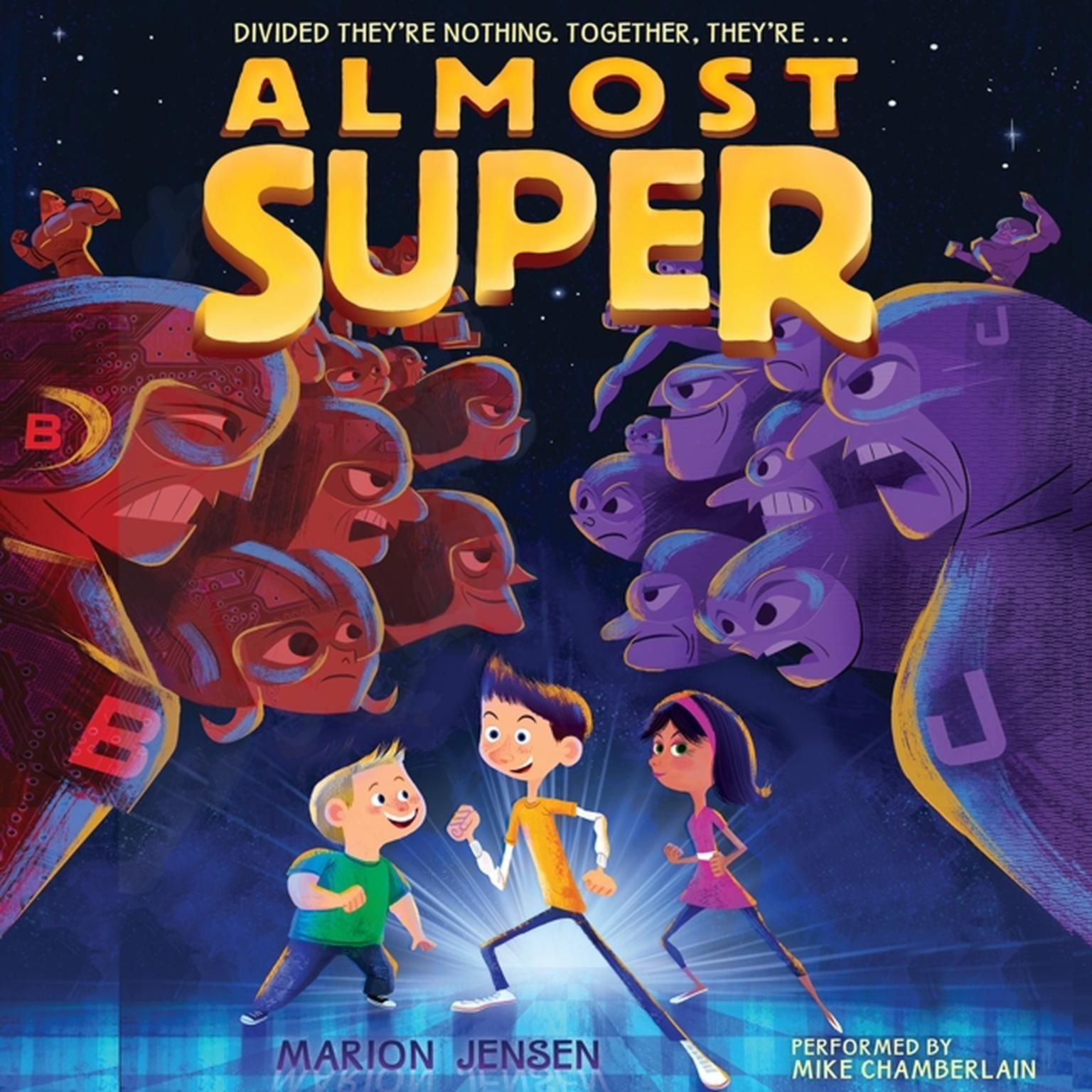Printable Almost Super Audiobook Cover Art