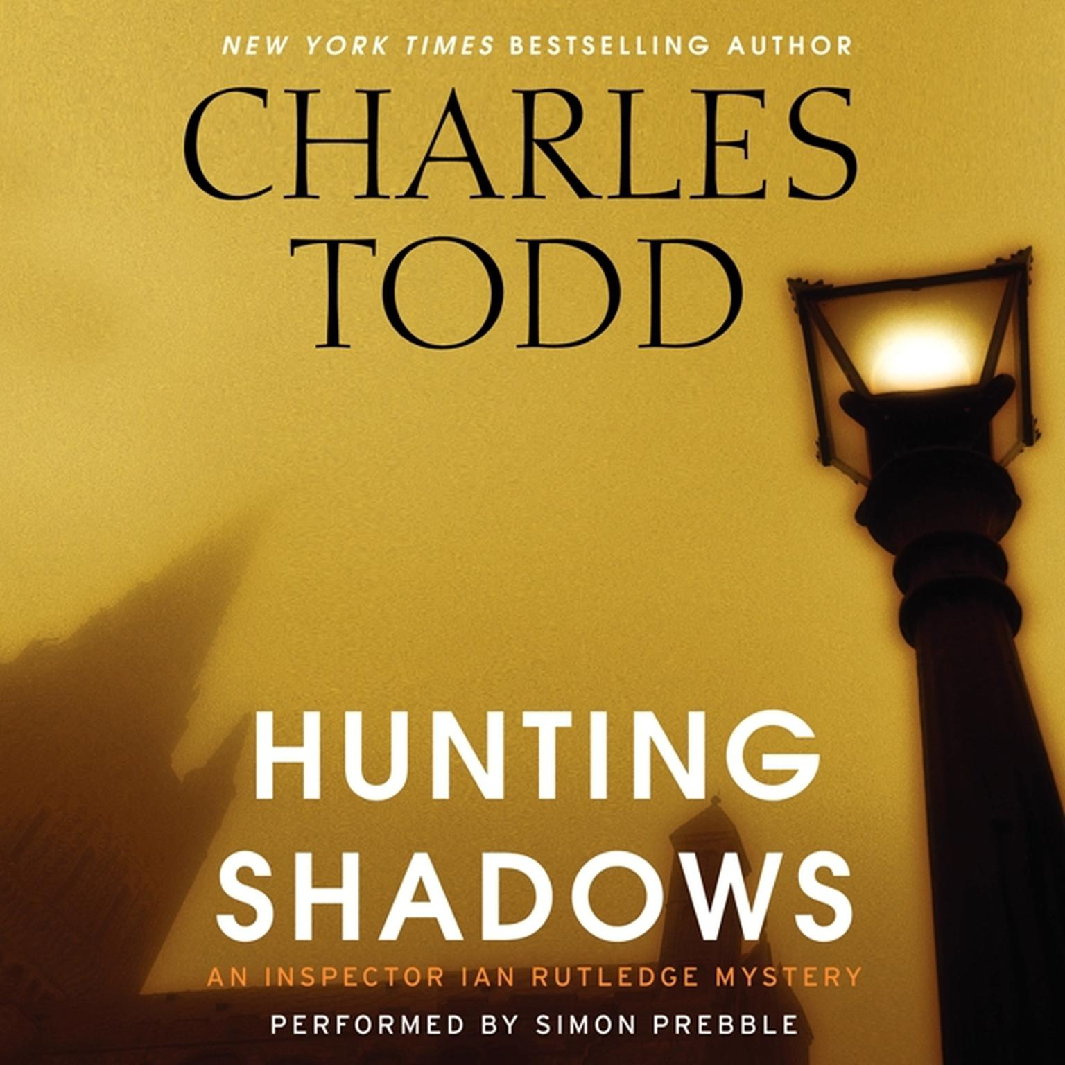 Printable Hunting Shadows: An Inspector Ian Rutledge Mystery Audiobook Cover Art