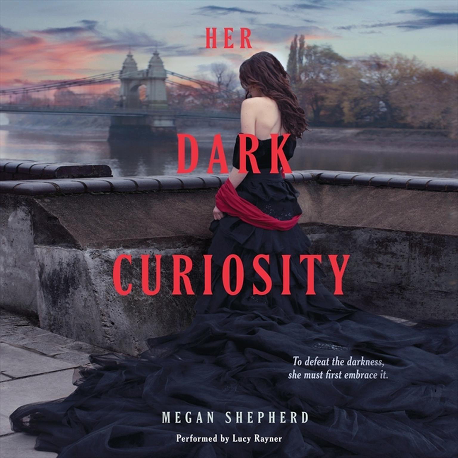 Printable Her Dark Curiosity Audiobook Cover Art