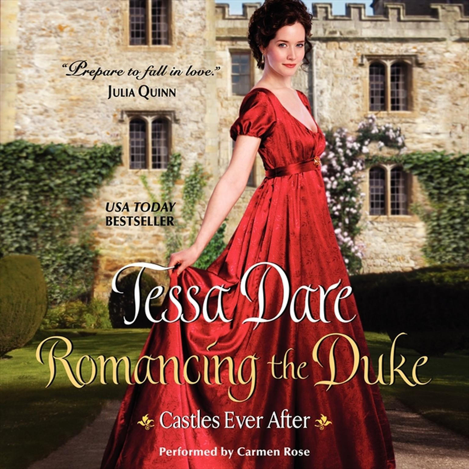 Printable Romancing the Duke: Castles Ever After Audiobook Cover Art