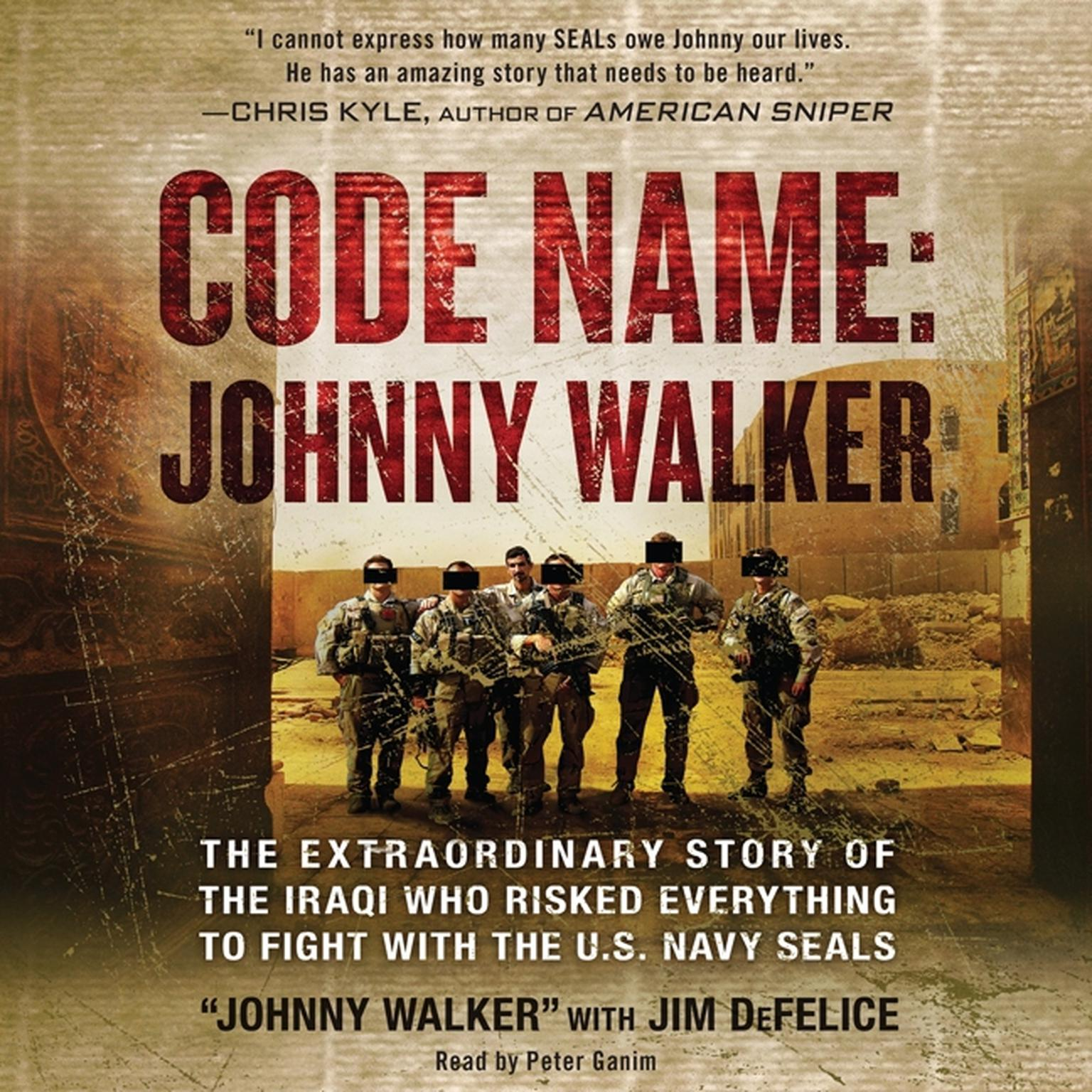 Printable Code Name: Johnny Walker: The Extraordinary Story of the Iraqi Who Risked Everything to Fight with the U.S. Navy SEALs Audiobook Cover Art