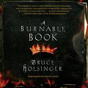 A Burnable Book: A Novel, by Bruce Holsinger