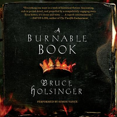A Burnable Book: A Novel Audiobook, by Bruce Holsinger