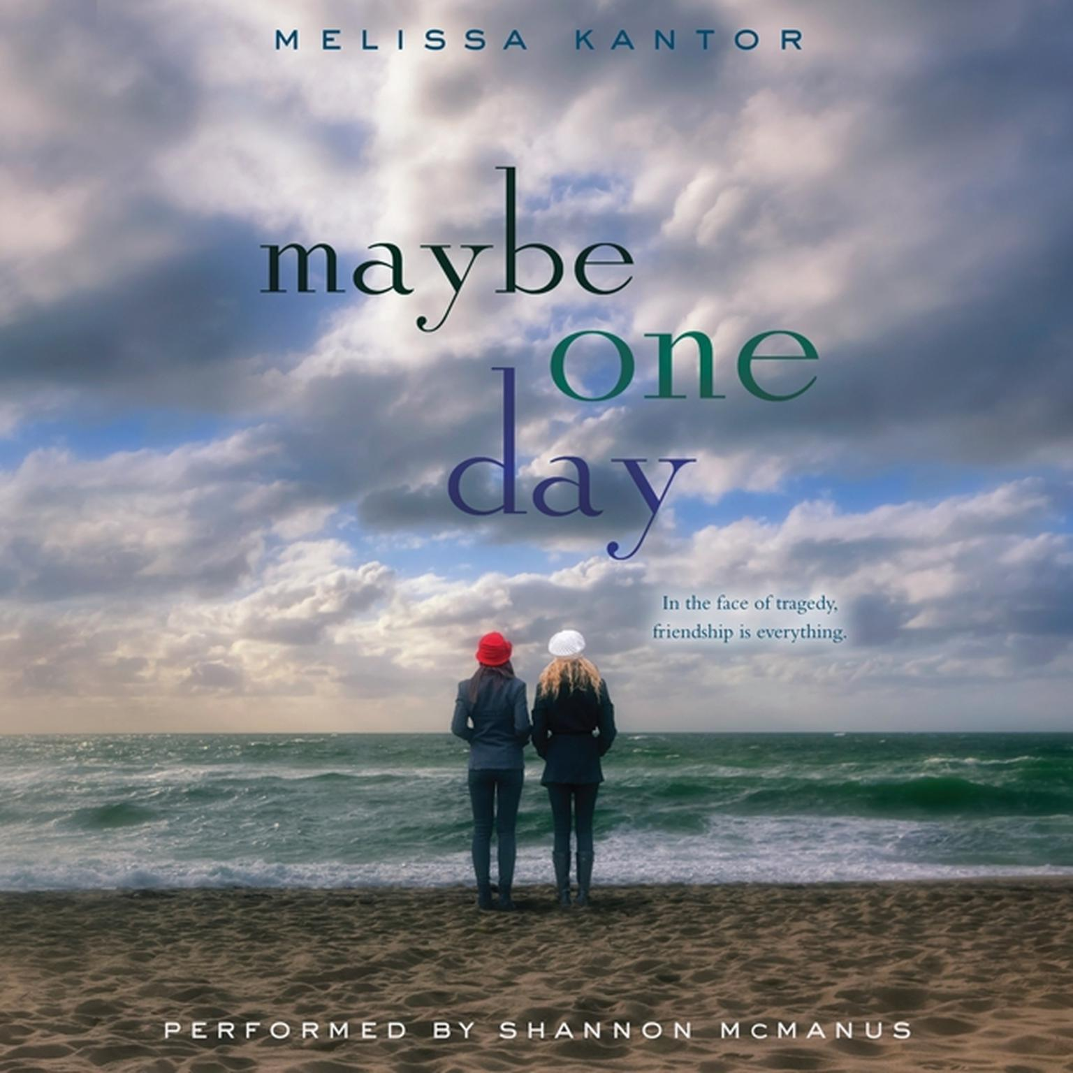 Printable Maybe One Day Audiobook Cover Art