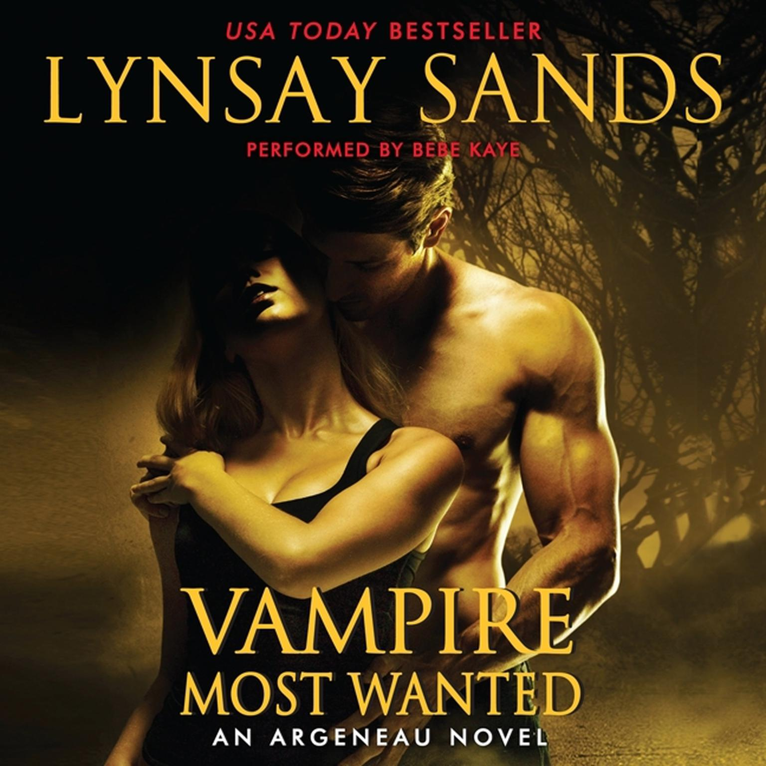 Printable Vampire Most Wanted: An Argeneau Novel Audiobook Cover Art