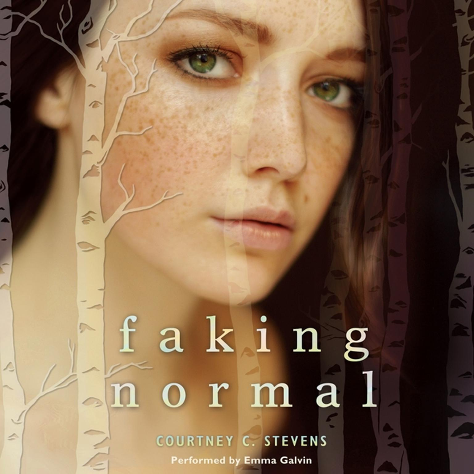 Printable Faking Normal Audiobook Cover Art
