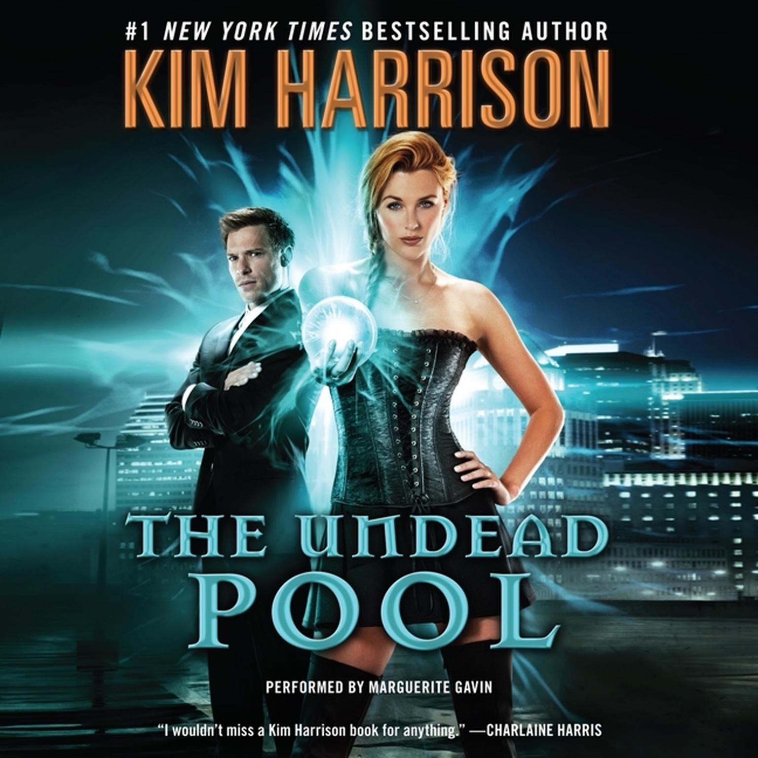 Printable The Undead Pool Audiobook Cover Art