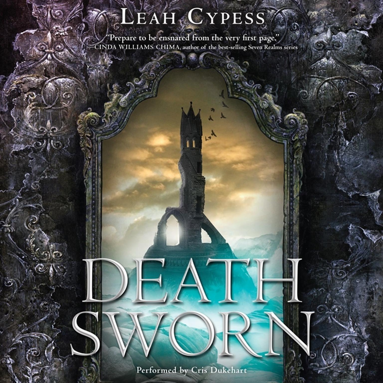 Printable Death Sworn Audiobook Cover Art
