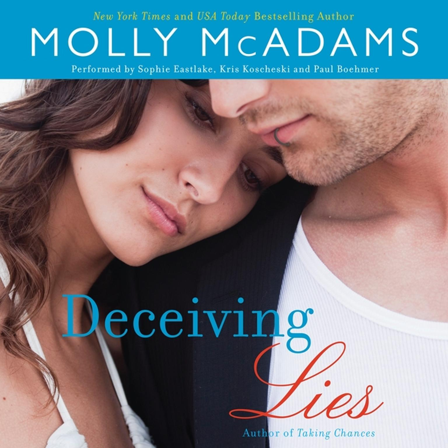 Printable Deceiving Lies: A Novel Audiobook Cover Art
