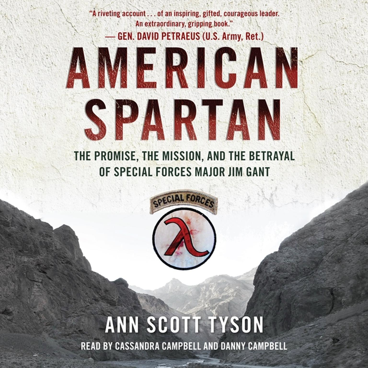 Printable American Spartan: The Promise, the Mission, and the Betrayal of Special Forces Major Jim Gant Audiobook Cover Art