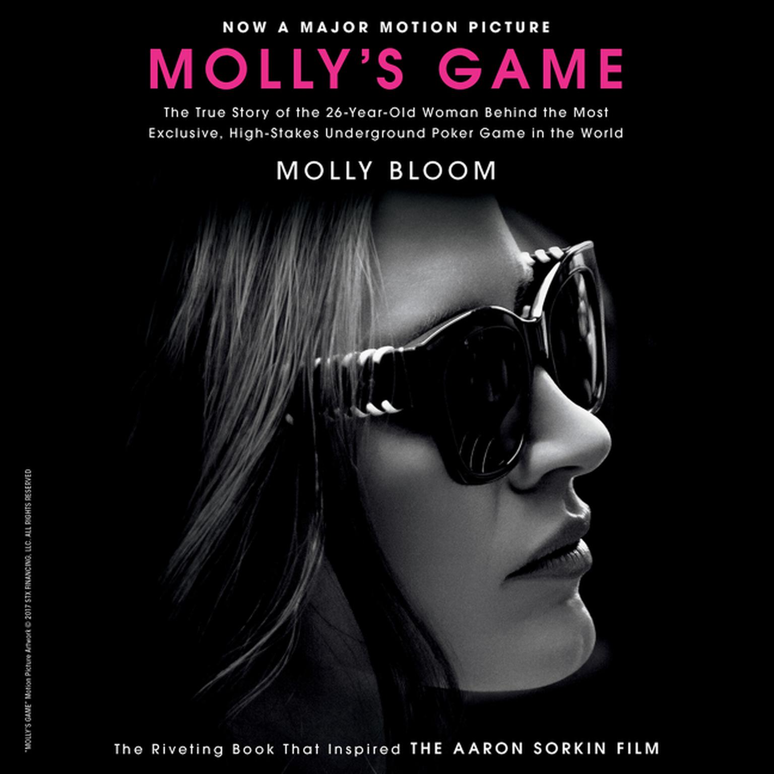 Printable Molly's Game: From Hollywood's Elite, to Wall Street's Billionaire Boys Club, My High-Stakes Adventure in the World of Underground Poker Audiobook Cover Art