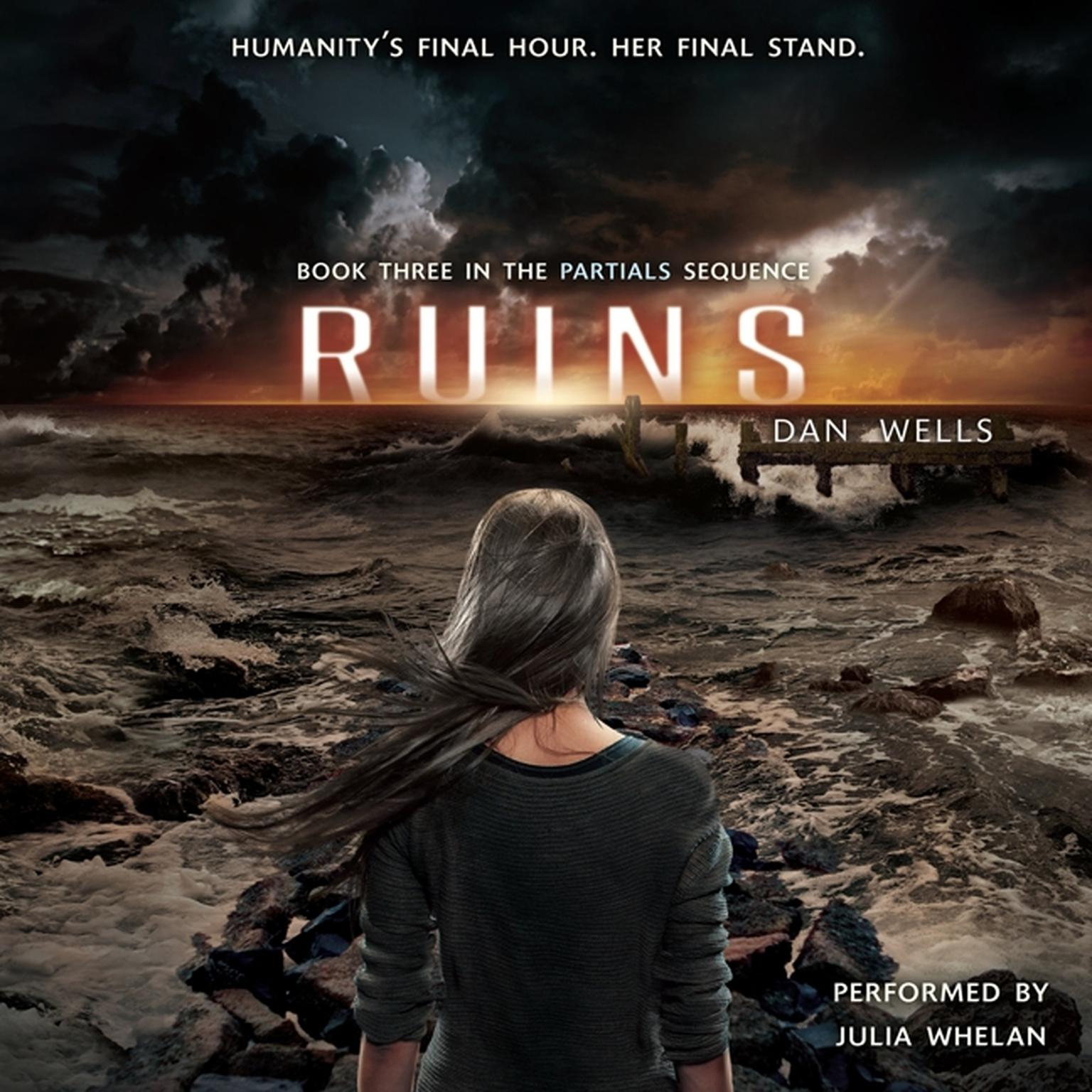 Printable Ruins Audiobook Cover Art