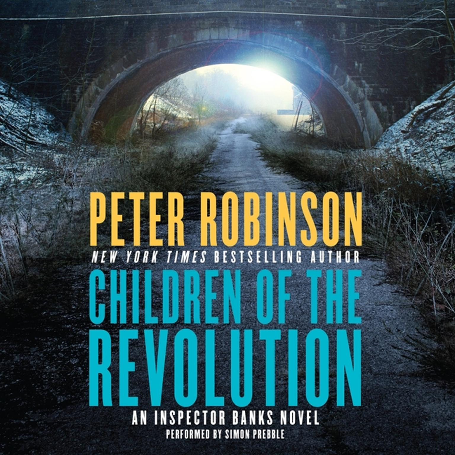 Printable Children of the Revolution: An Inspector Banks Novel Audiobook Cover Art